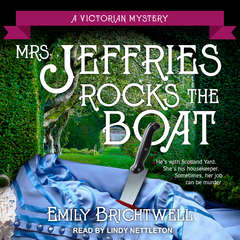 Mrs. Jeffries Rocks the Boat Audiobook, by Emily Brightwell