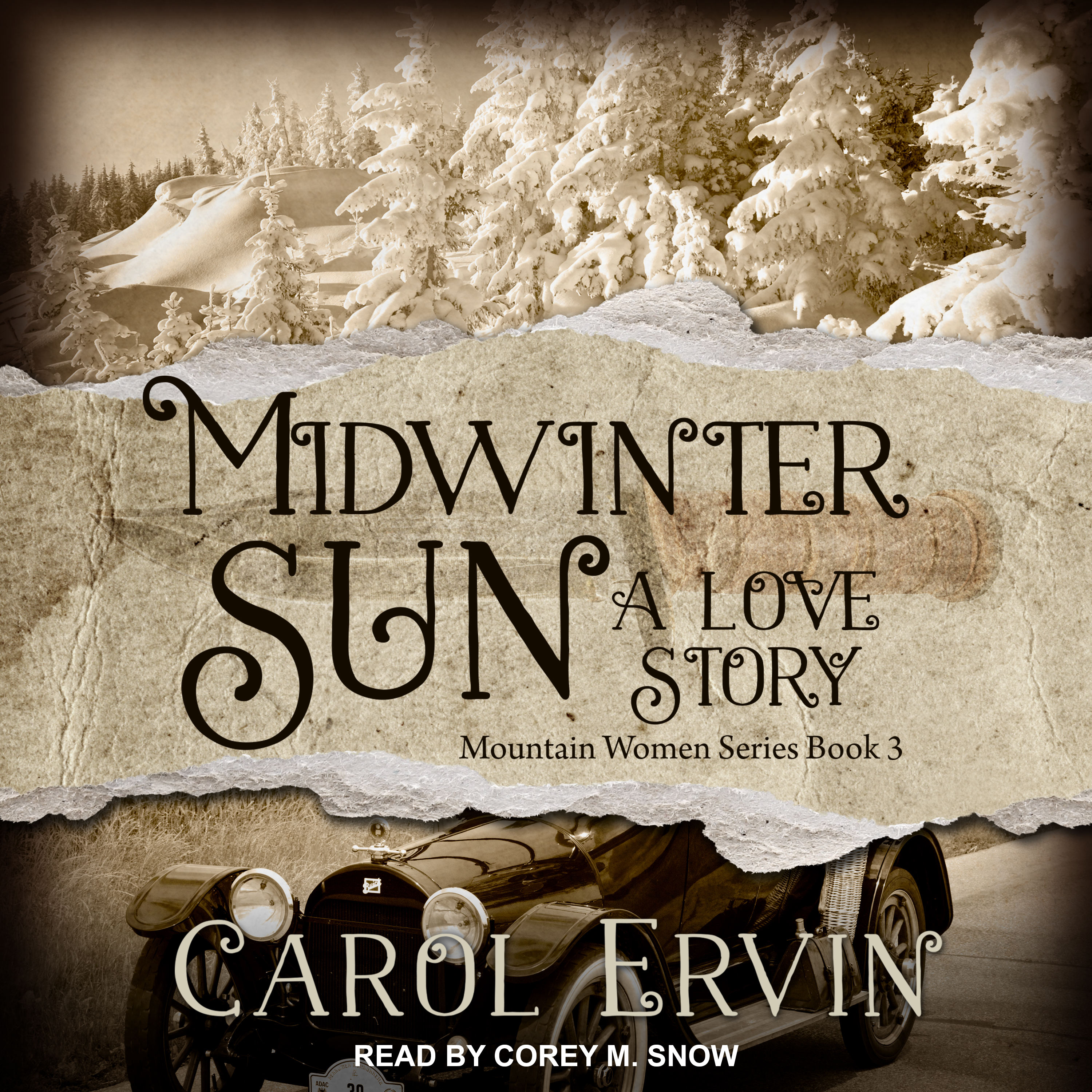 Printable Midwinter Sun: A Love Story Audiobook Cover Art