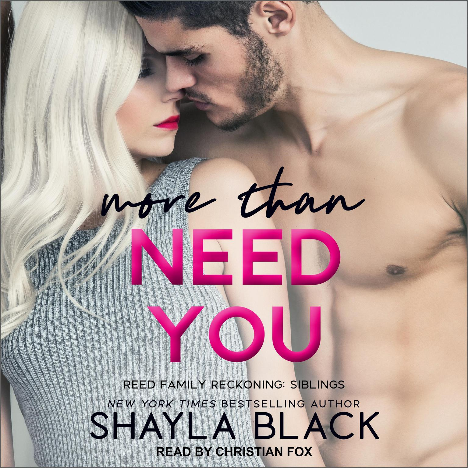 Printable More Than Need You  Audiobook Cover Art