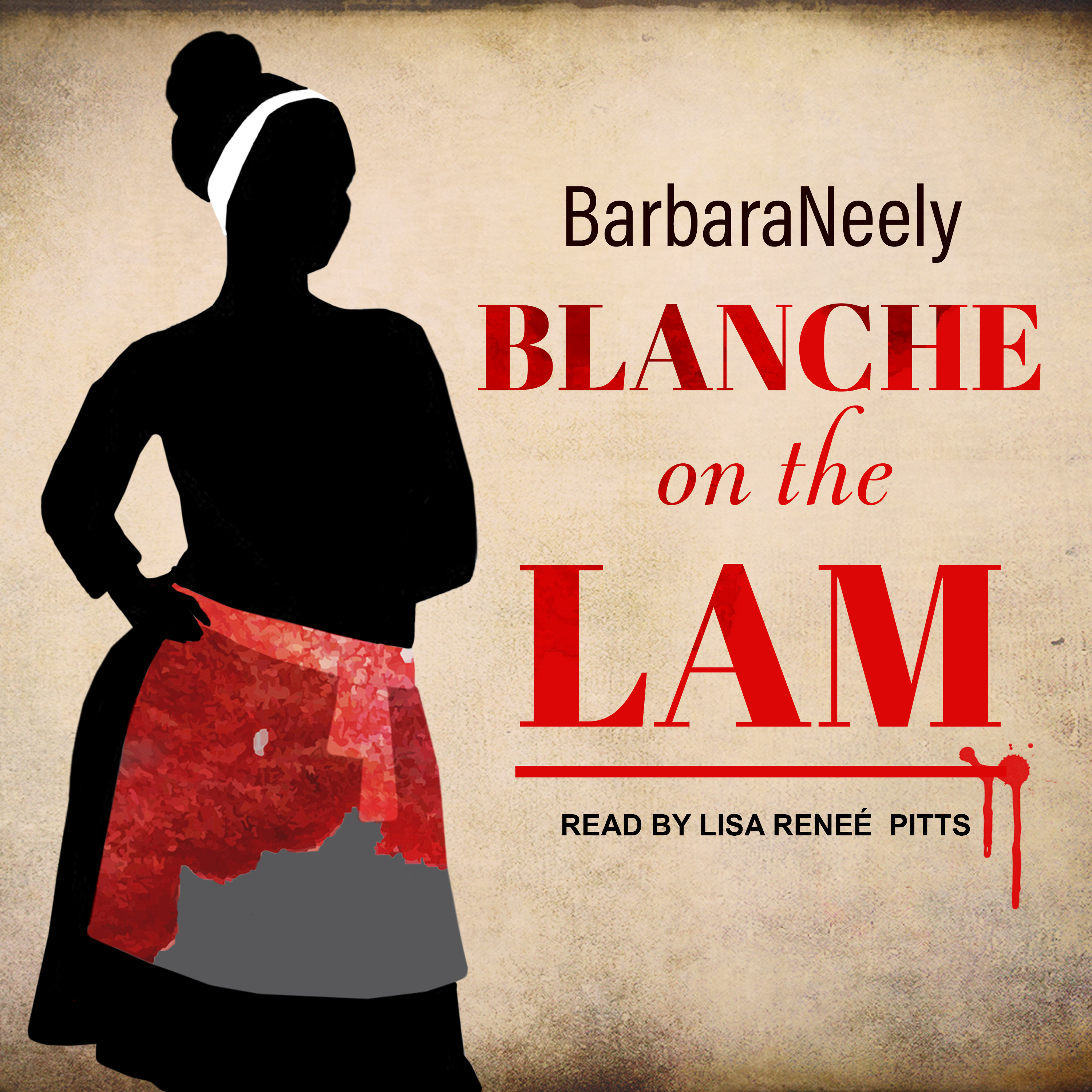 Printable Blanche on the Lam Audiobook Cover Art