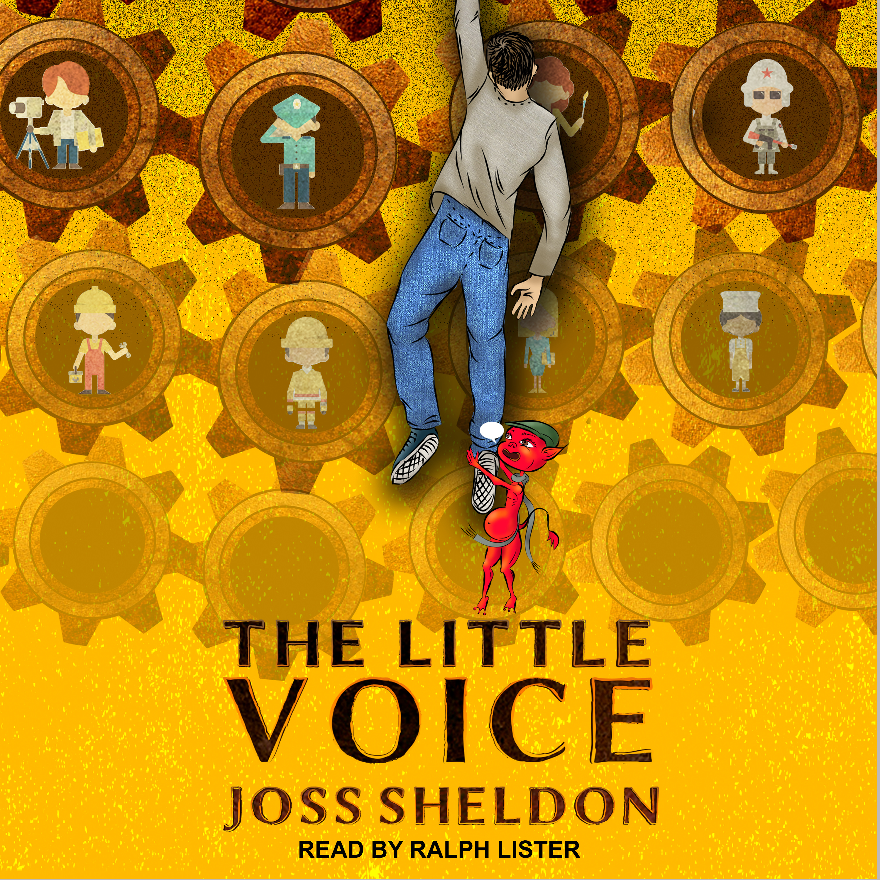 Printable The Little Voice: A Rebellious Novel Audiobook Cover Art