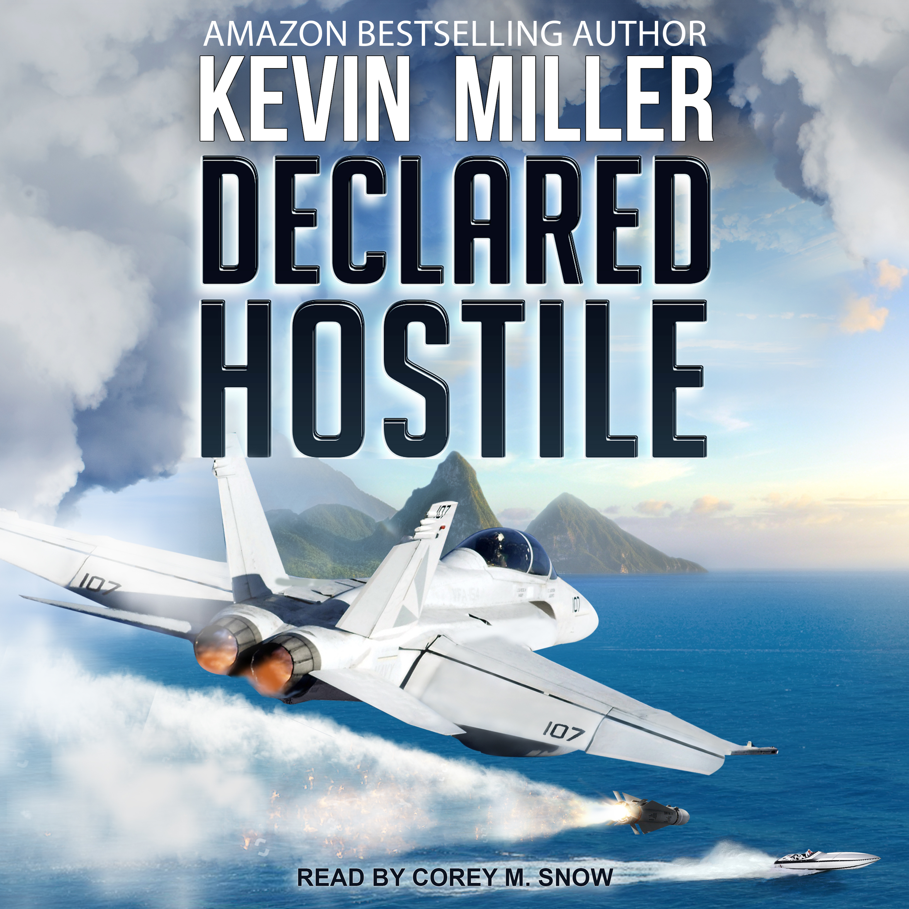 Printable Declared Hostile Audiobook Cover Art