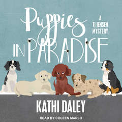 Puppies in Paradise Audiobook, by Kathi Daley