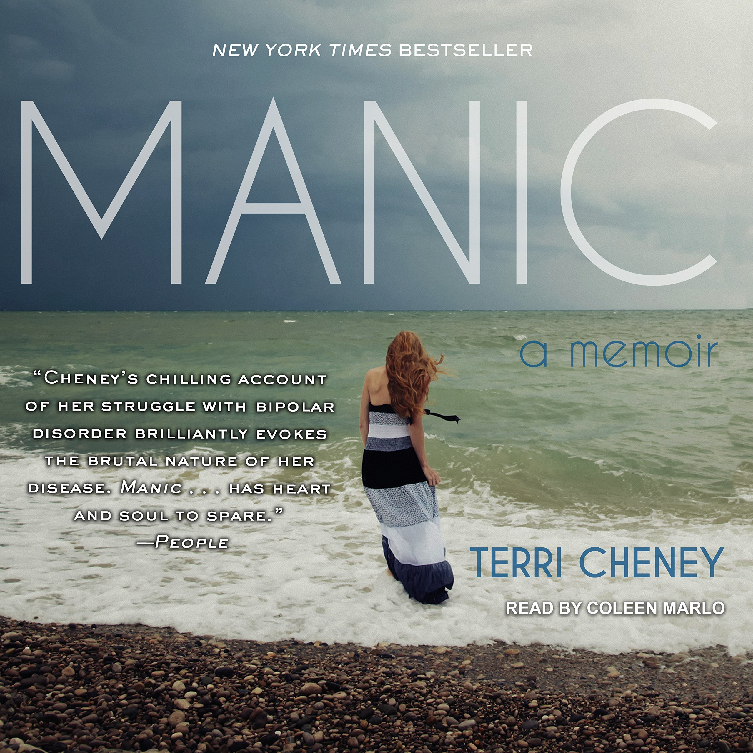 Printable Manic: A Memoir Audiobook Cover Art