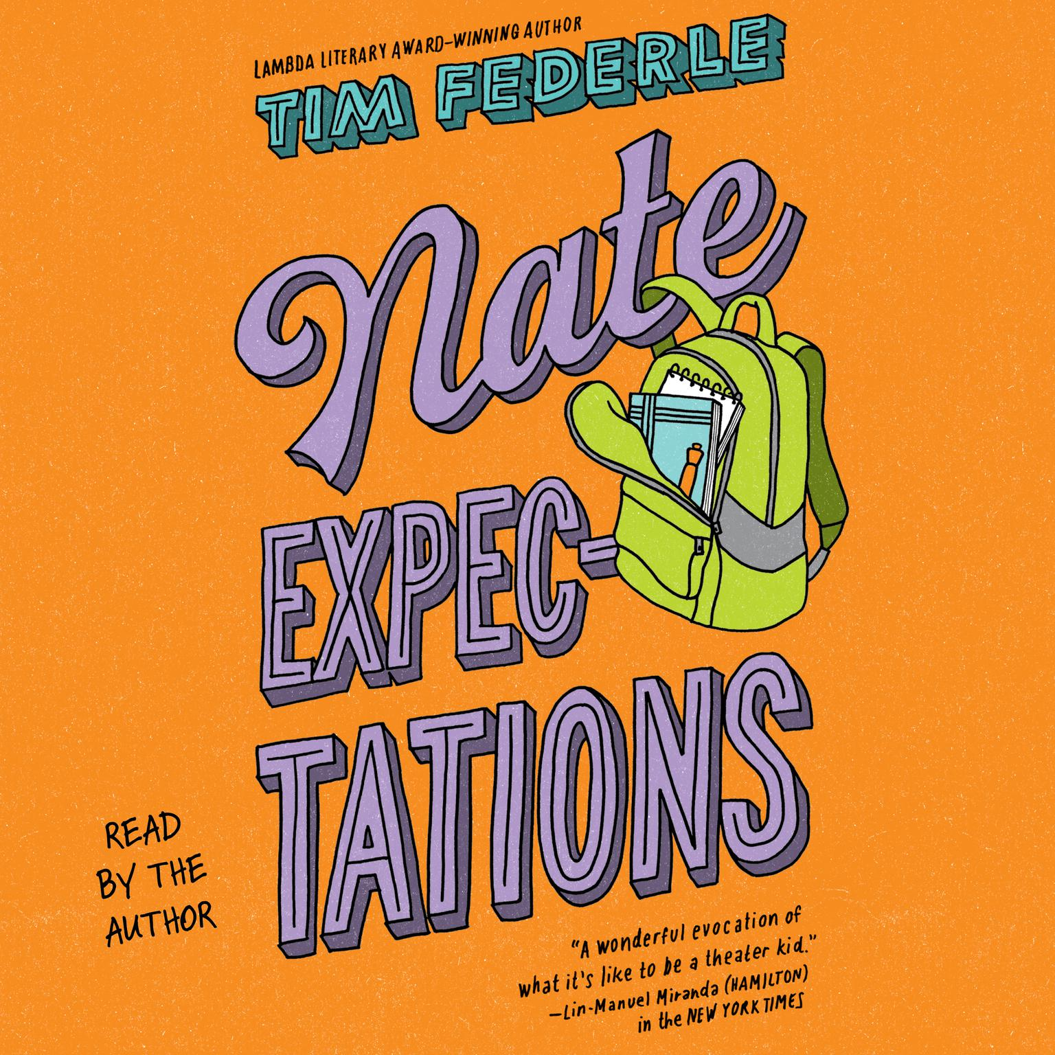 Printable Nate Expectations Audiobook Cover Art