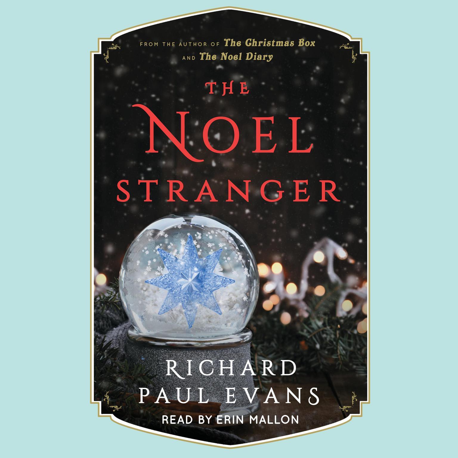 Printable The Noel Stranger Audiobook Cover Art