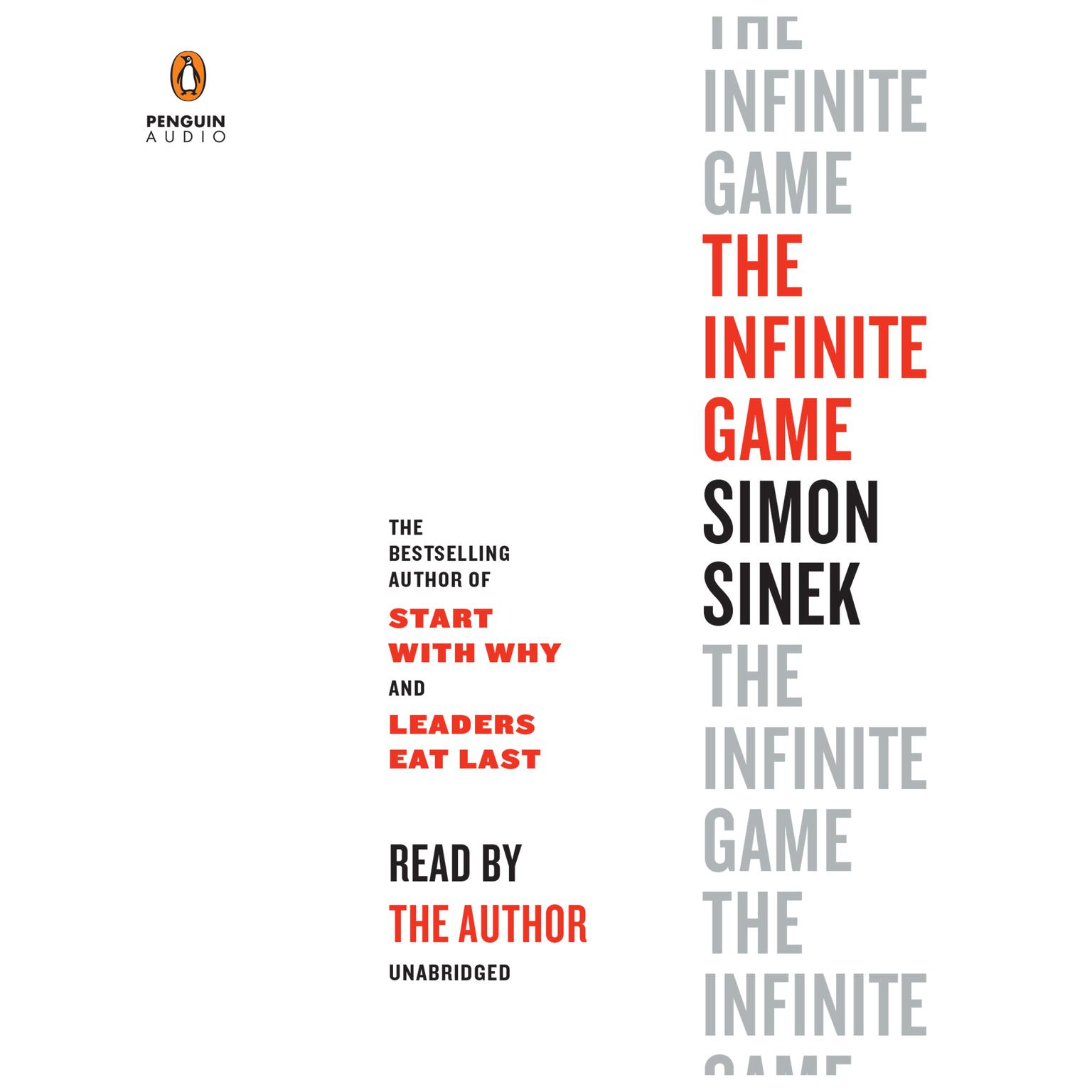 Printable The Infinite Game Audiobook Cover Art