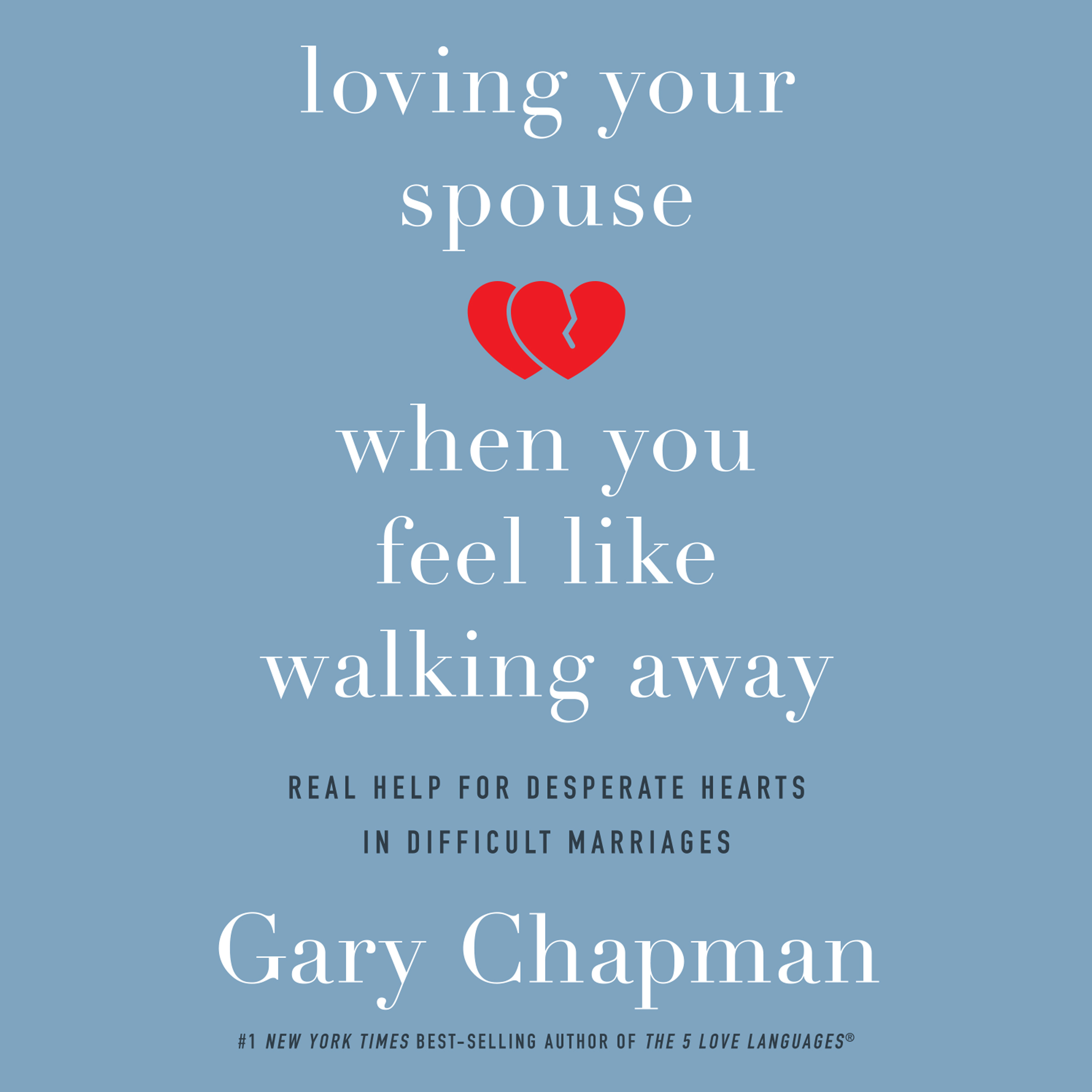 Printable Loving Your Spouse When You Feel Like Walking Away: Real Help for Desperate Hearts in Difficult Marriages Audiobook Cover Art