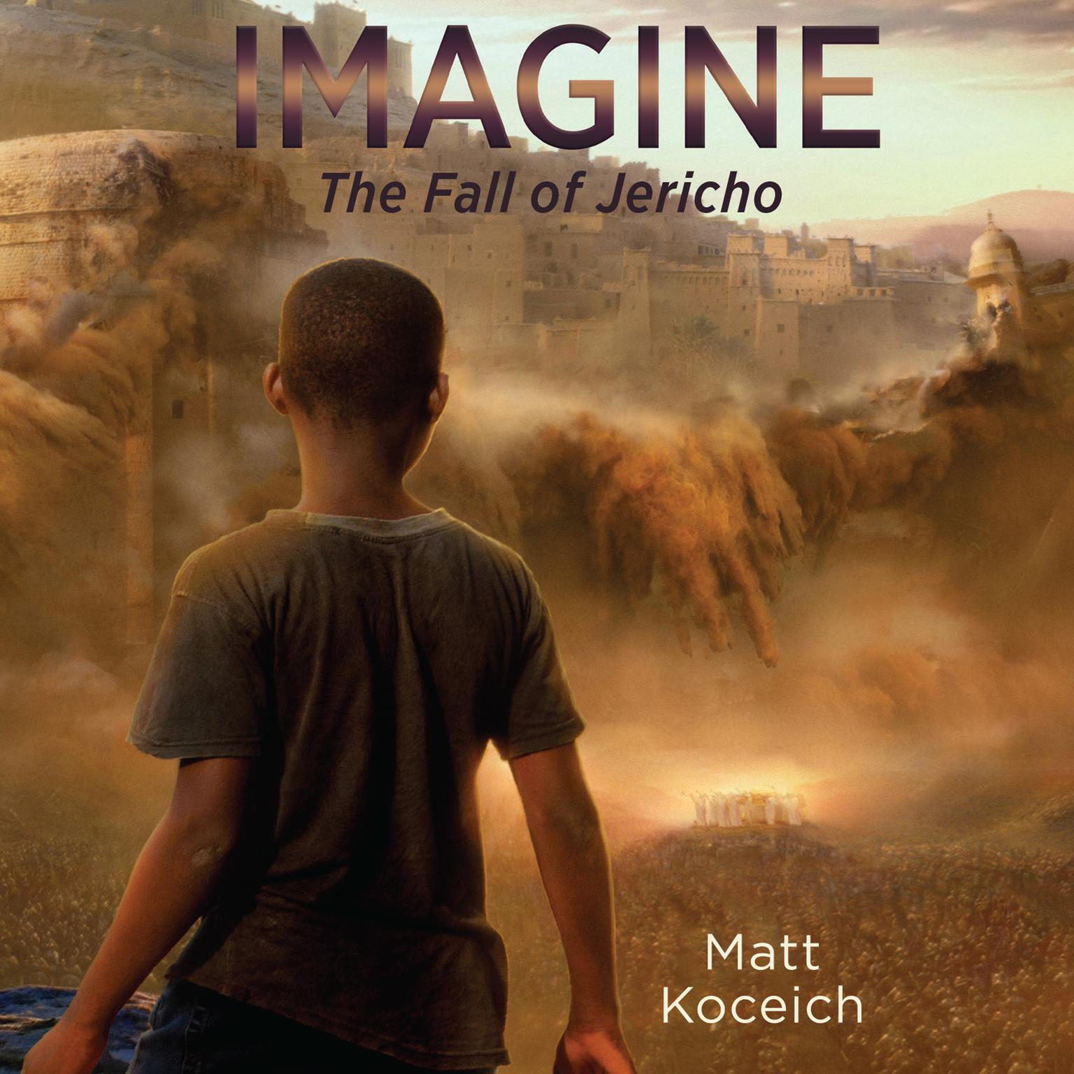 Printable Imagine...The Fall of Jericho Audiobook Cover Art