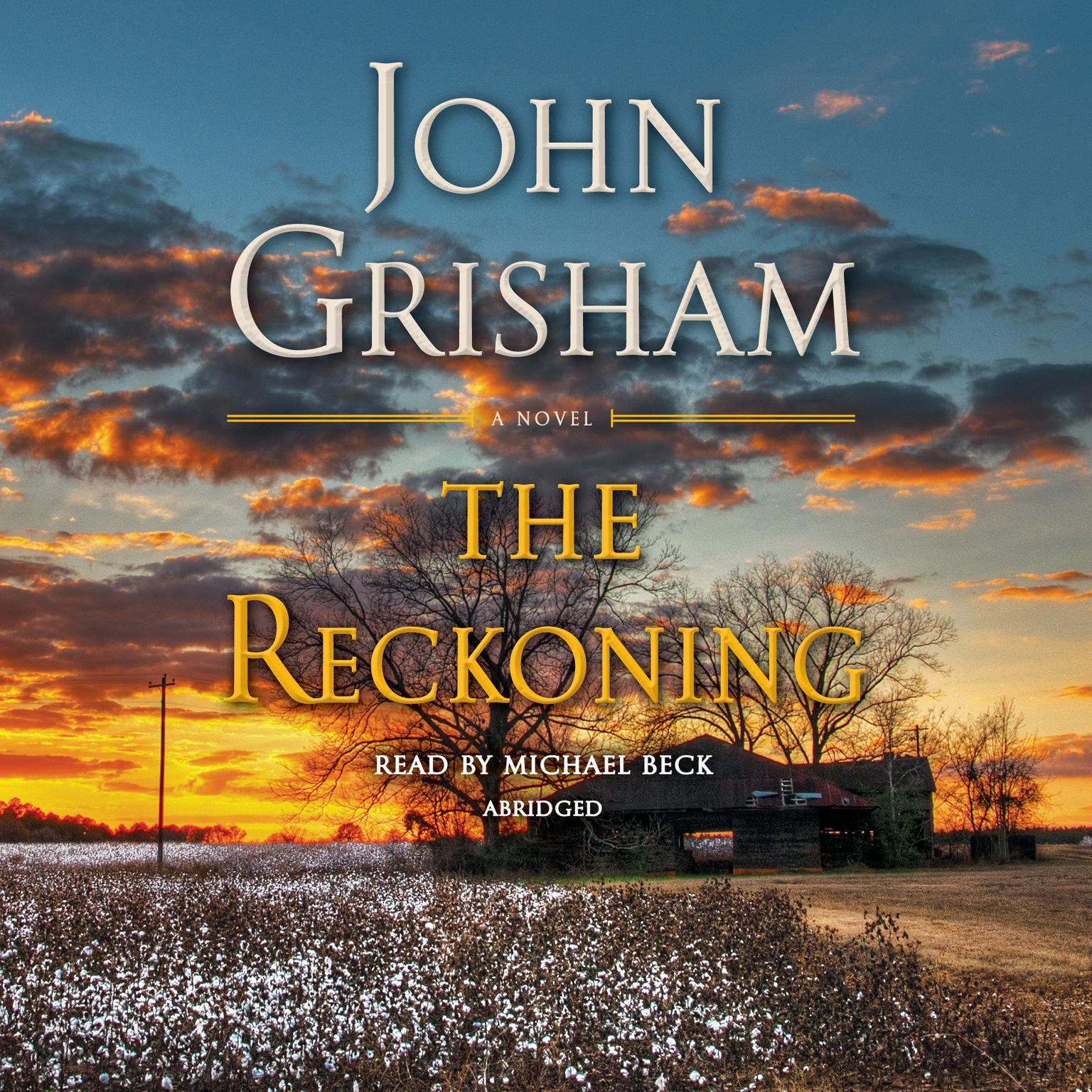Printable The Reckoning: A Novel Audiobook Cover Art