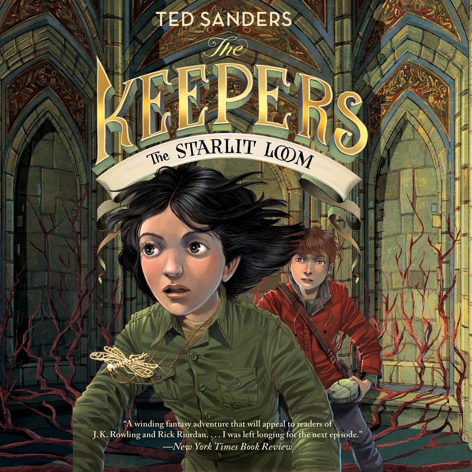 Printable The Keepers #4: The Starlit Loom Audiobook Cover Art