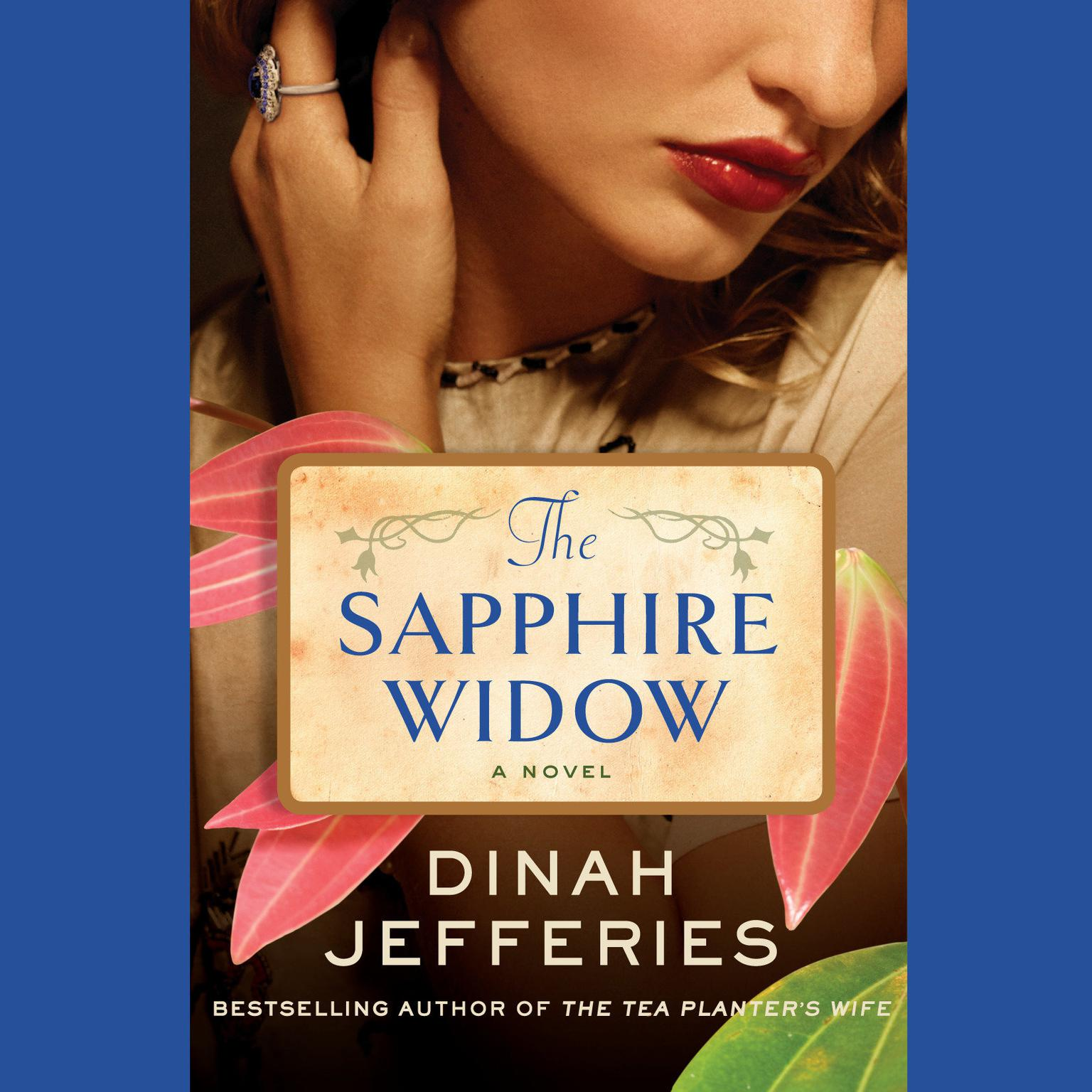 Printable The Sapphire Widow: A Novel Audiobook Cover Art