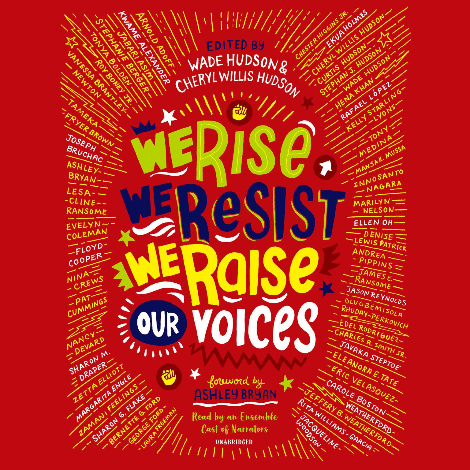 We Rise, We Resist, We Raise Our Voices Audiobook, by Cheryl Willis Hudson