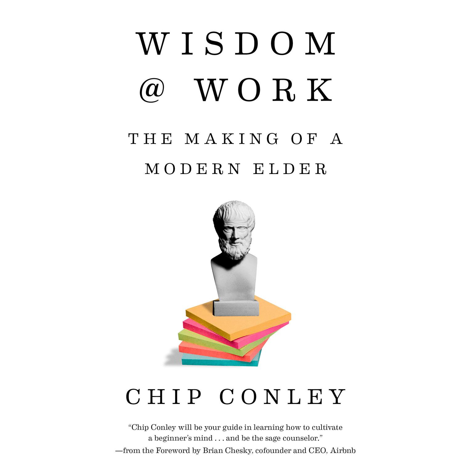 Printable Wisdom at Work: The Making of a Modern Elder Audiobook Cover Art