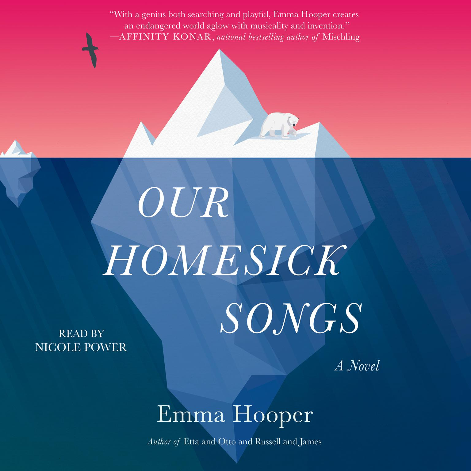 Printable Our Homesick Songs: A Novel Audiobook Cover Art