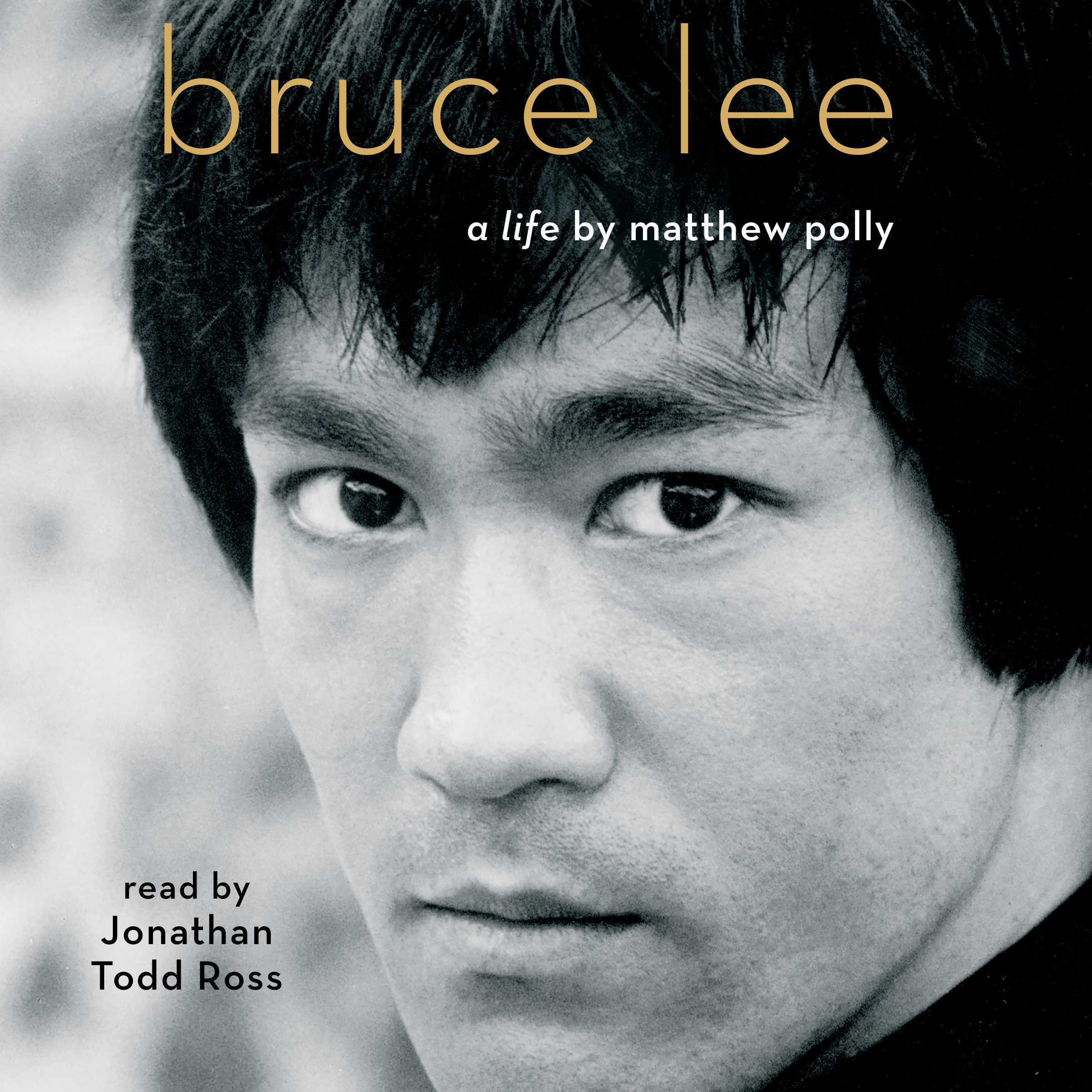 Printable Bruce Lee: A Life Audiobook Cover Art