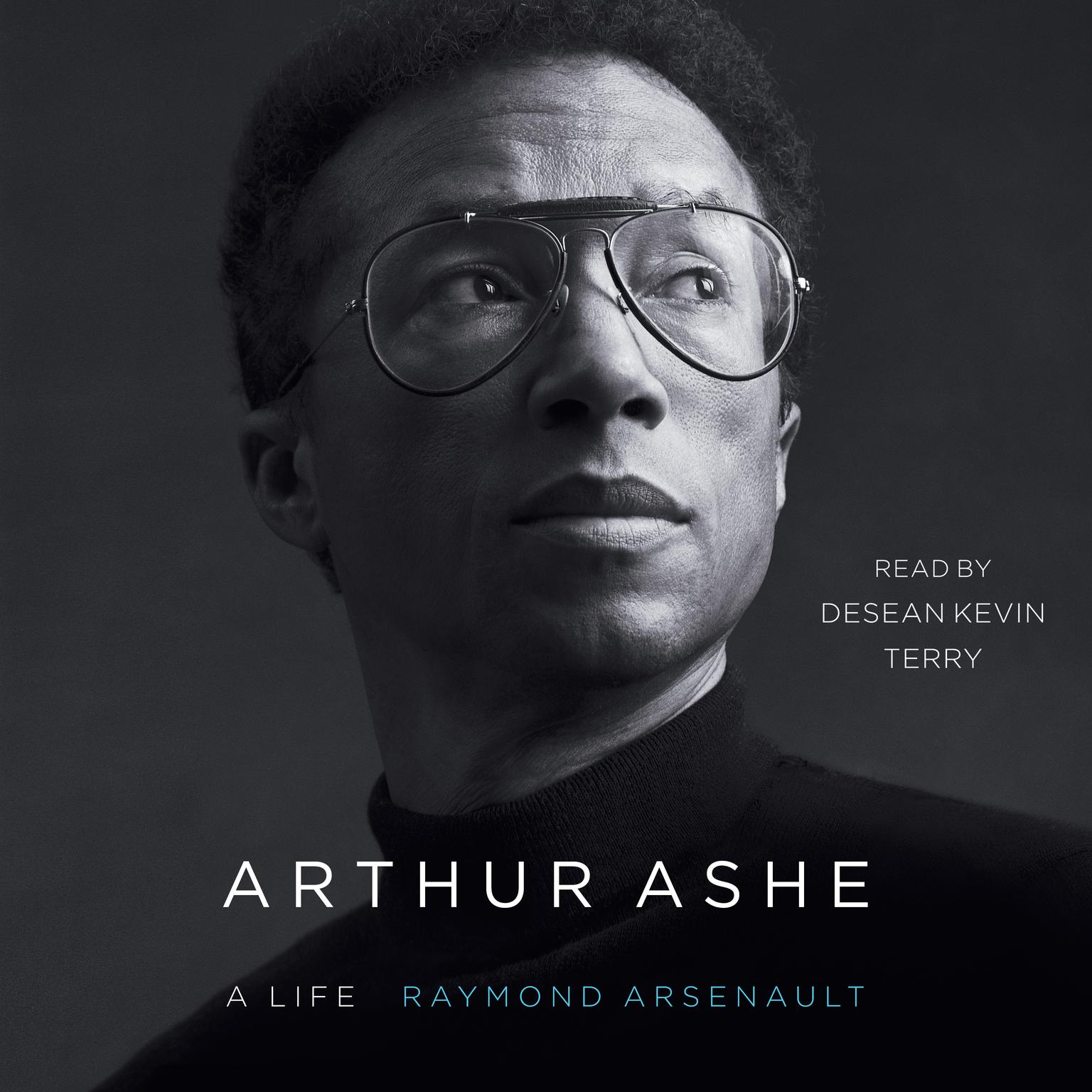 Printable Arthur Ashe: A Life Audiobook Cover Art