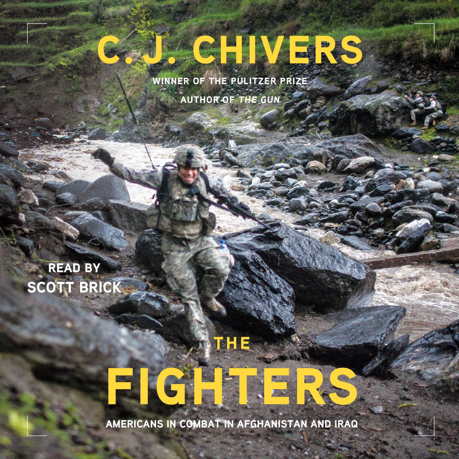 Printable The Fighters: Americans in Combat in Aghanistan and Iraq Audiobook Cover Art