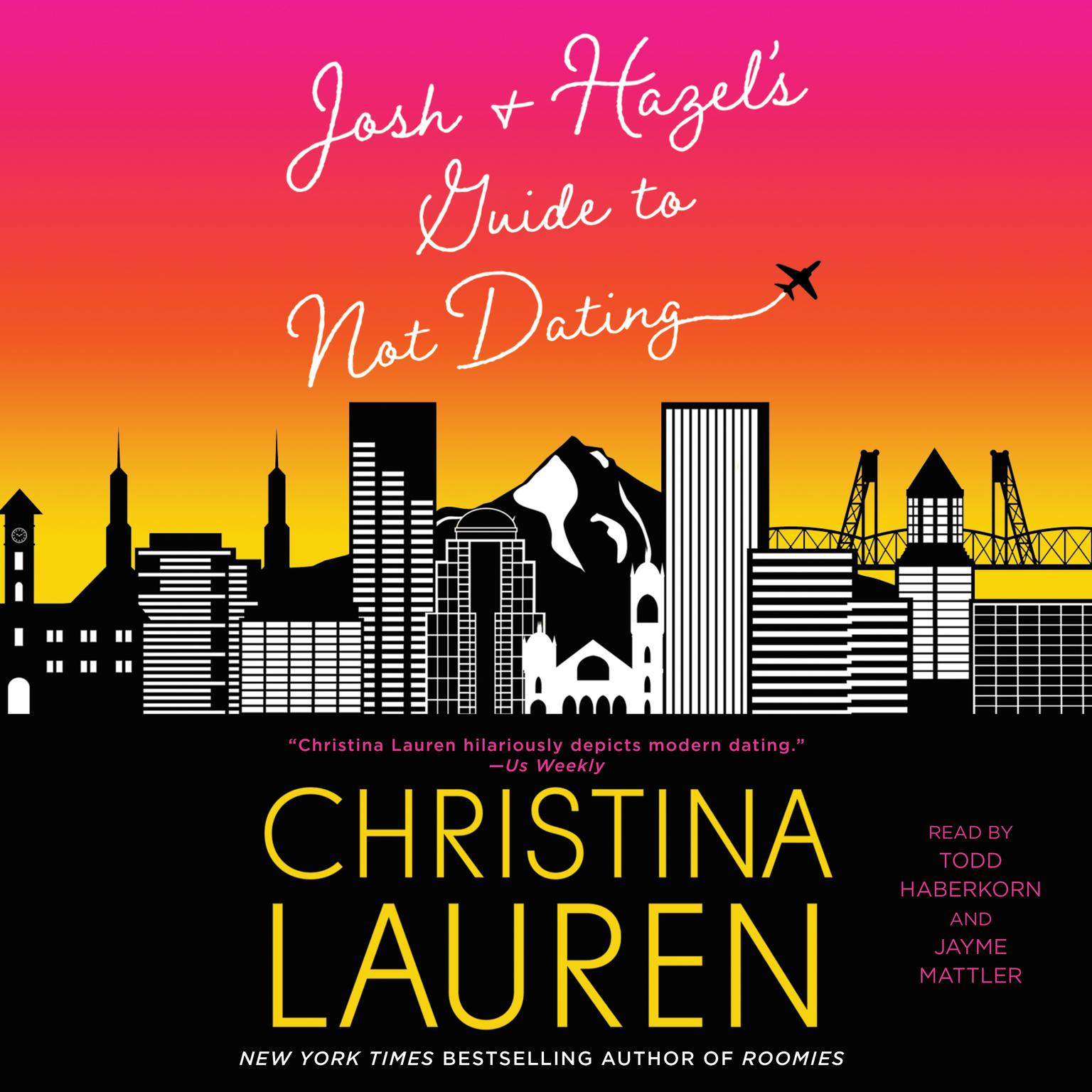 Printable Josh and Hazel's Guide to Not Dating Audiobook Cover Art