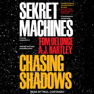 Sekret Machines Book 1: Chasing Shadows Audiobook, by A. J. Hartley
