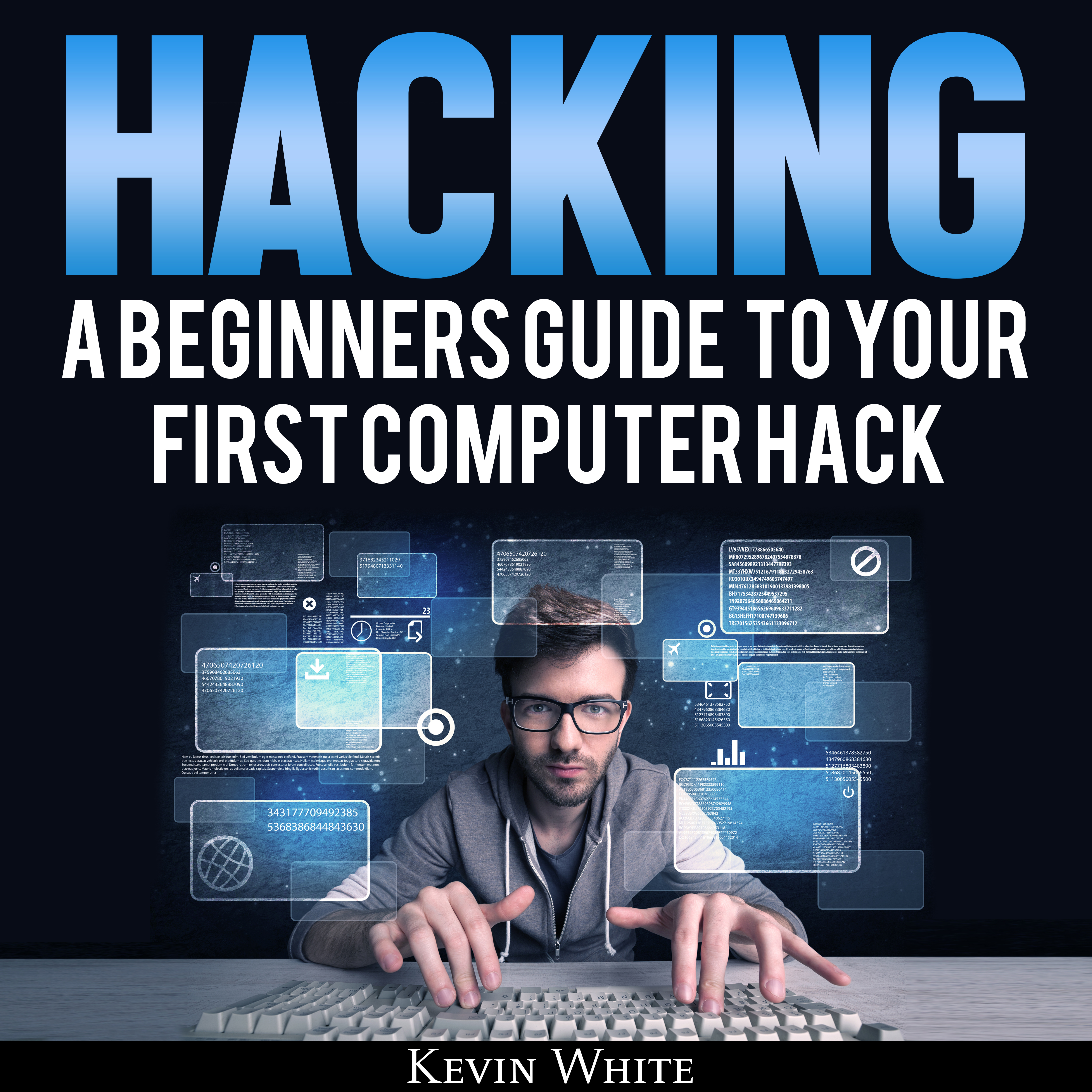 Printable Hacking: A Beginners Guide to Your First Computer Hack Audiobook Cover Art
