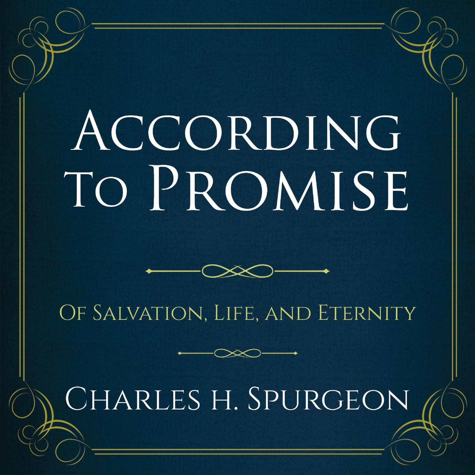 Printable According to the Promise: Of Salvation, Life, and Eternity.  Audiobook Cover Art