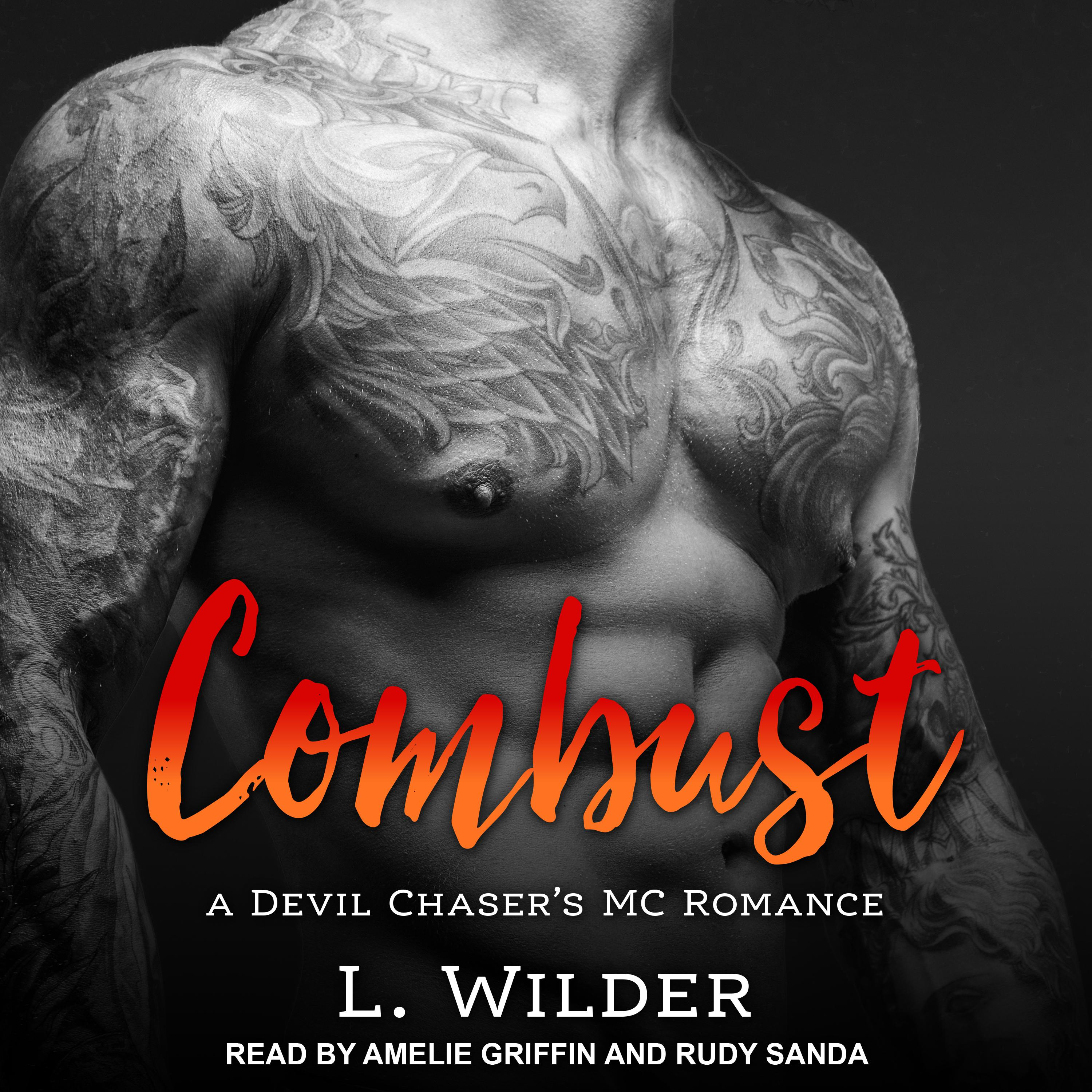 Printable Combust Audiobook Cover Art