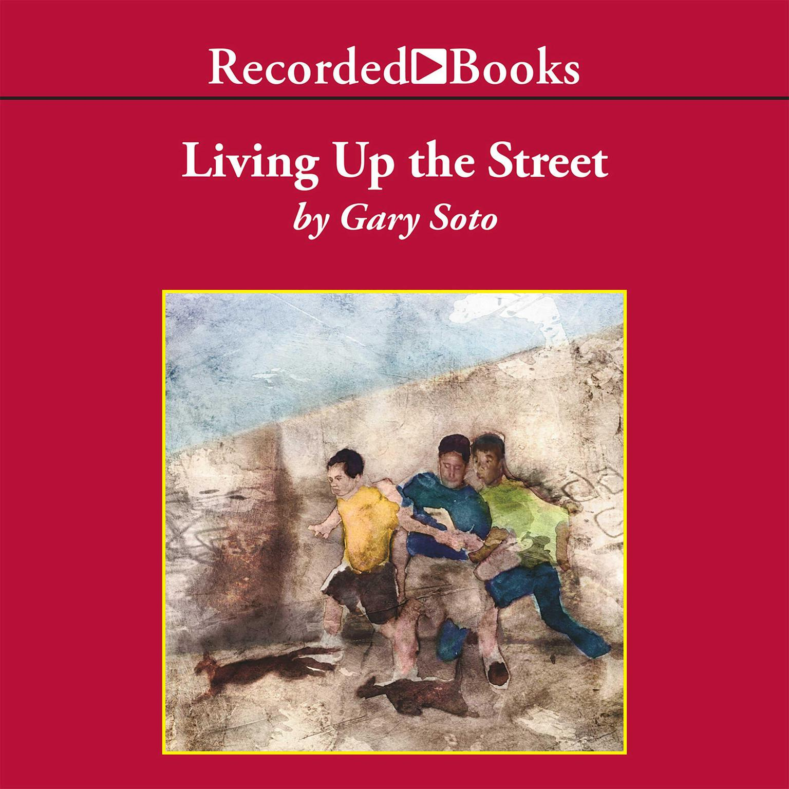 Printable Living Up the Street Audiobook Cover Art