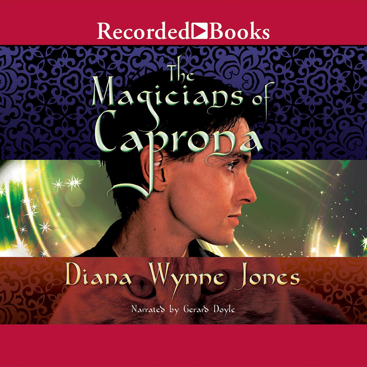 Printable The Magicians of Caprona Audiobook Cover Art