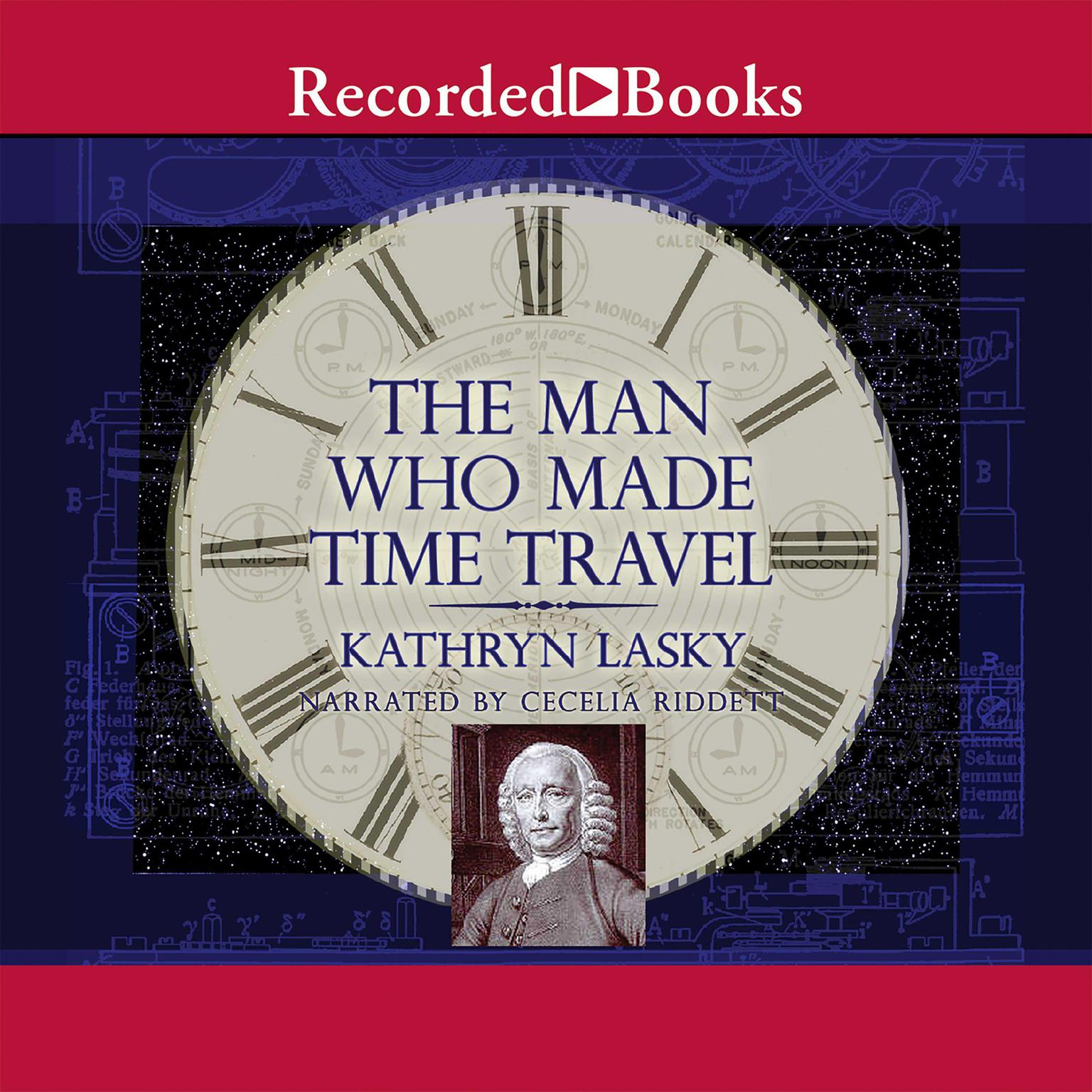 Printable The Man Who Made Time Travel Audiobook Cover Art