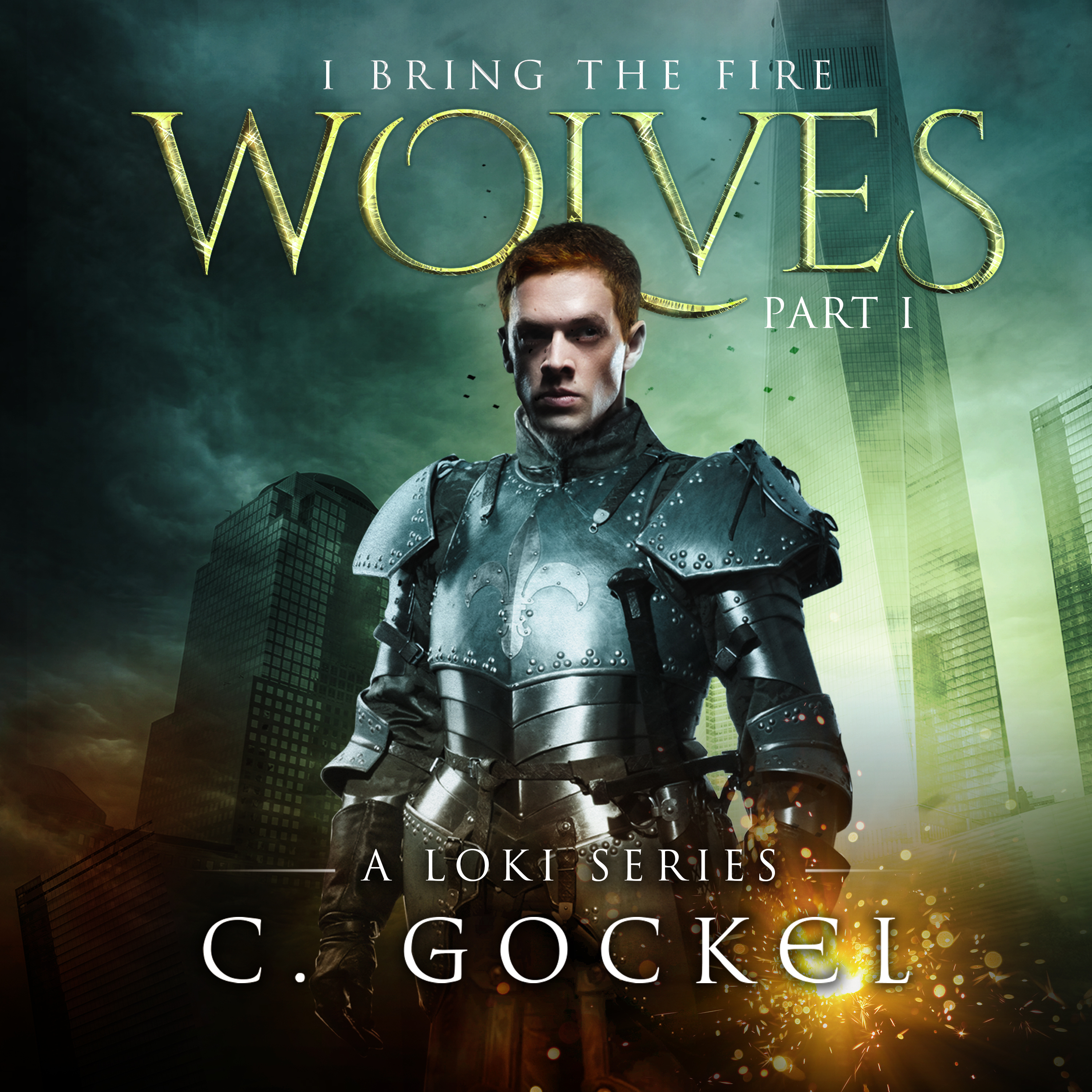 Printable I Bring the Fire: Wolves Audiobook Cover Art