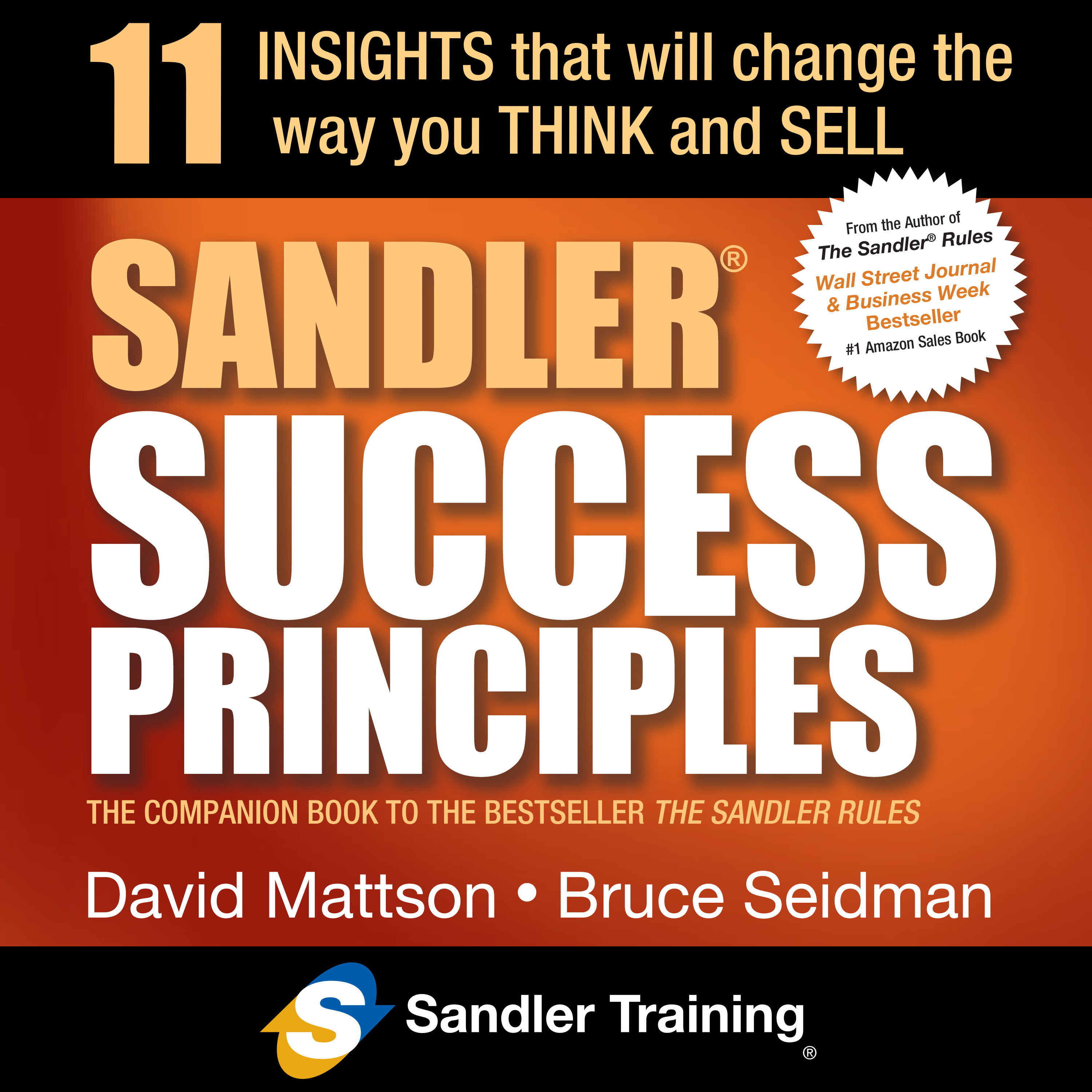 Printable Sandler Success Principles: 11 Insights that Will Change the Way you Think and Sell Audiobook Cover Art