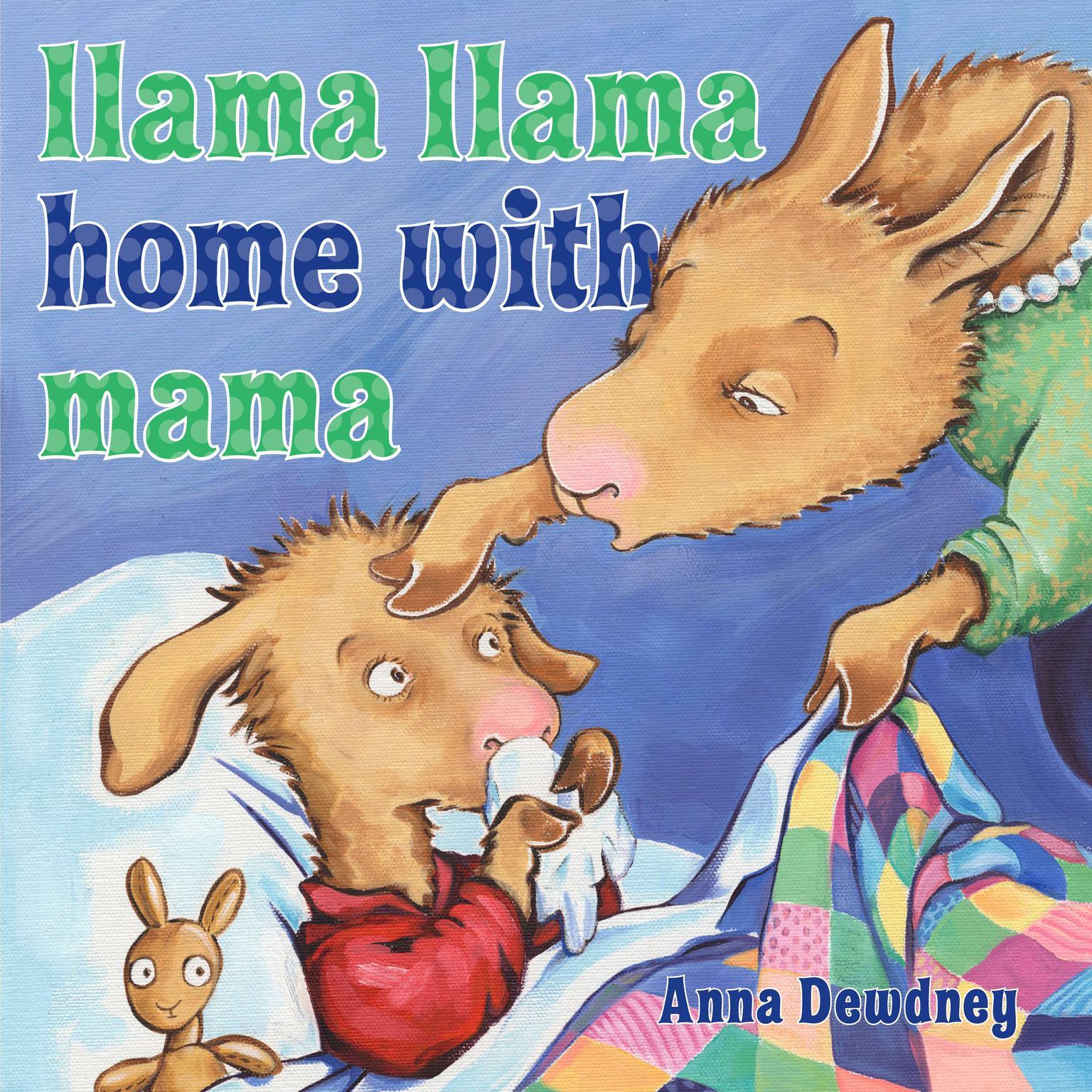Printable Llama Llama Home With Mama Audiobook Cover Art