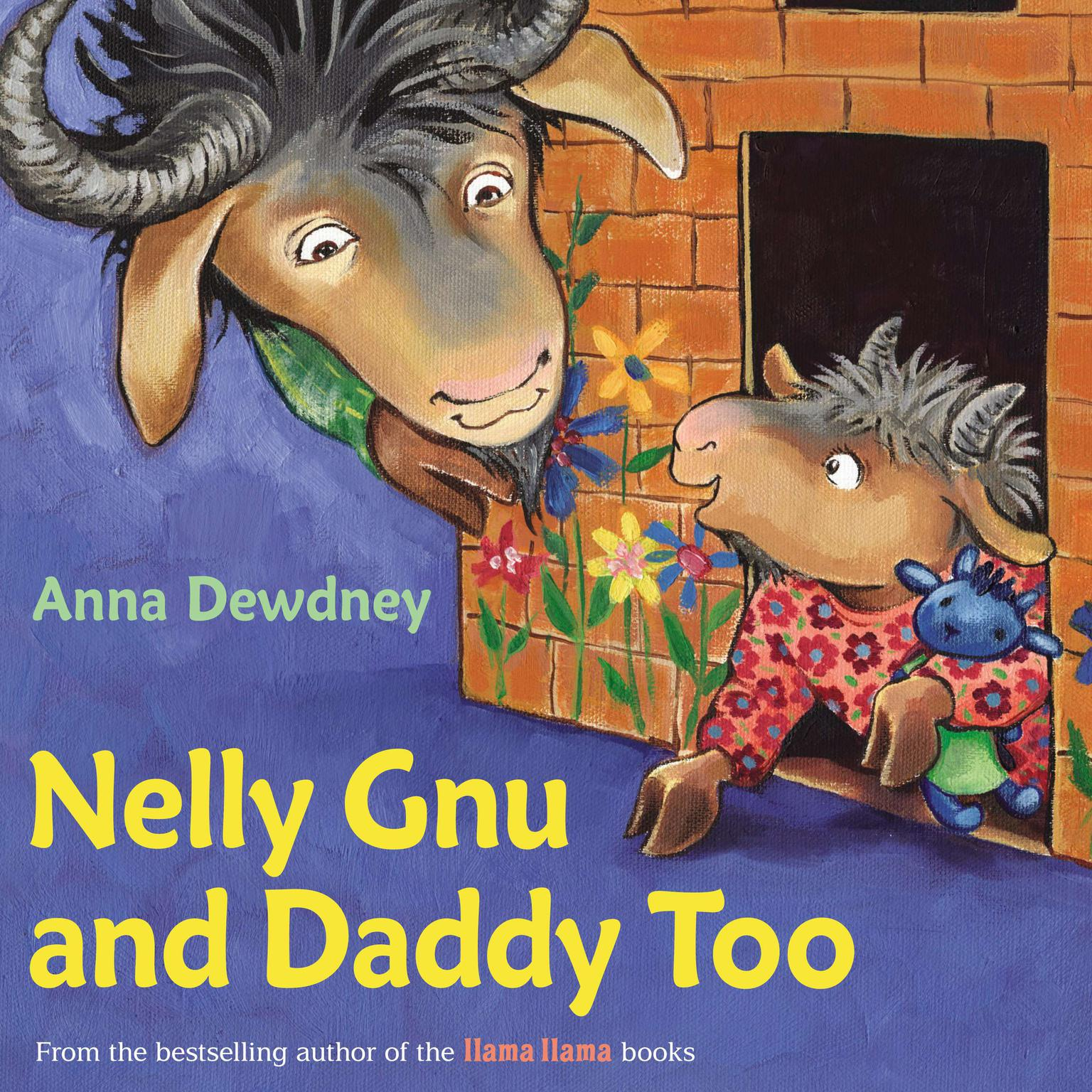Printable Nelly Gnu and Daddy Too Audiobook Cover Art