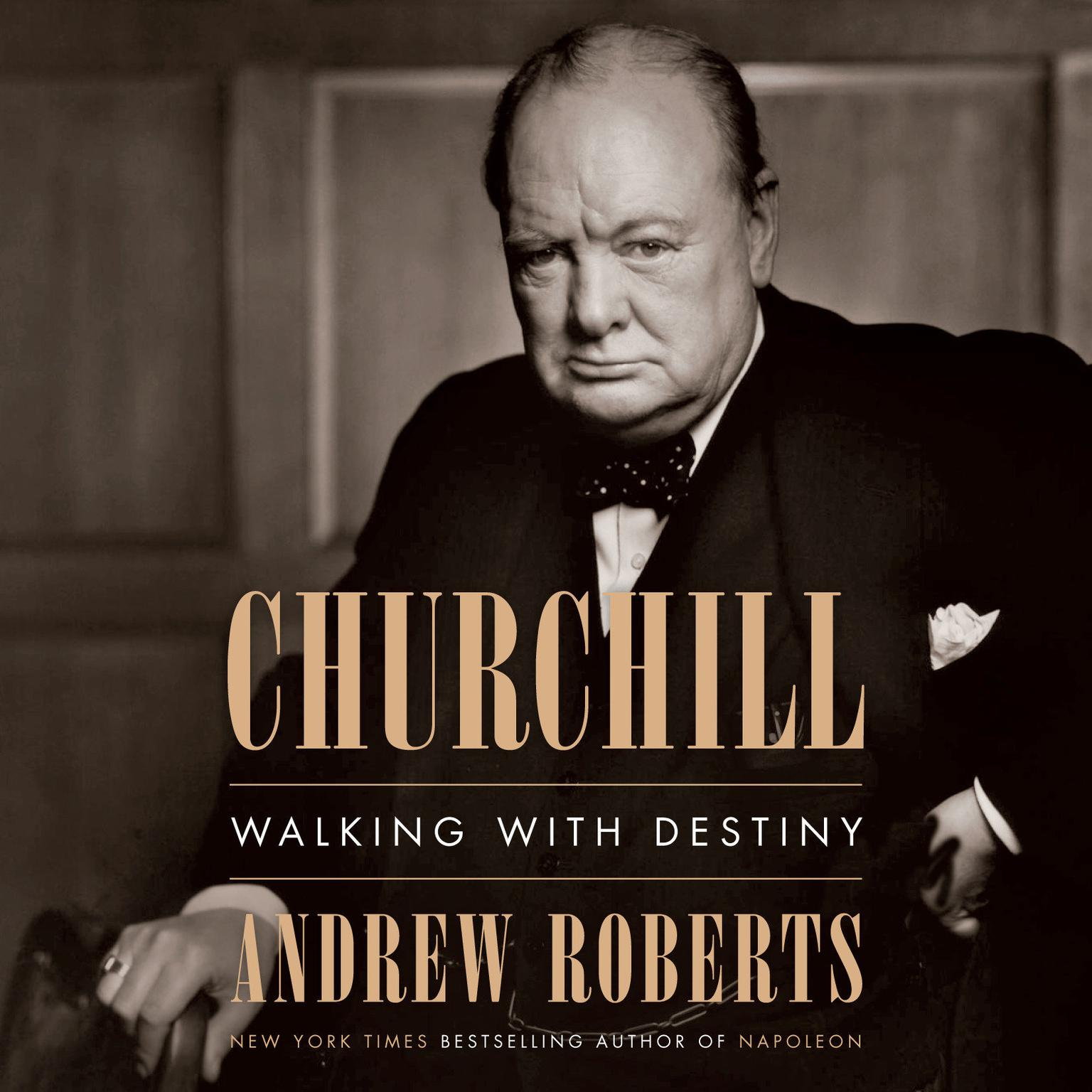 Printable Churchill: Walking with Destiny Audiobook Cover Art