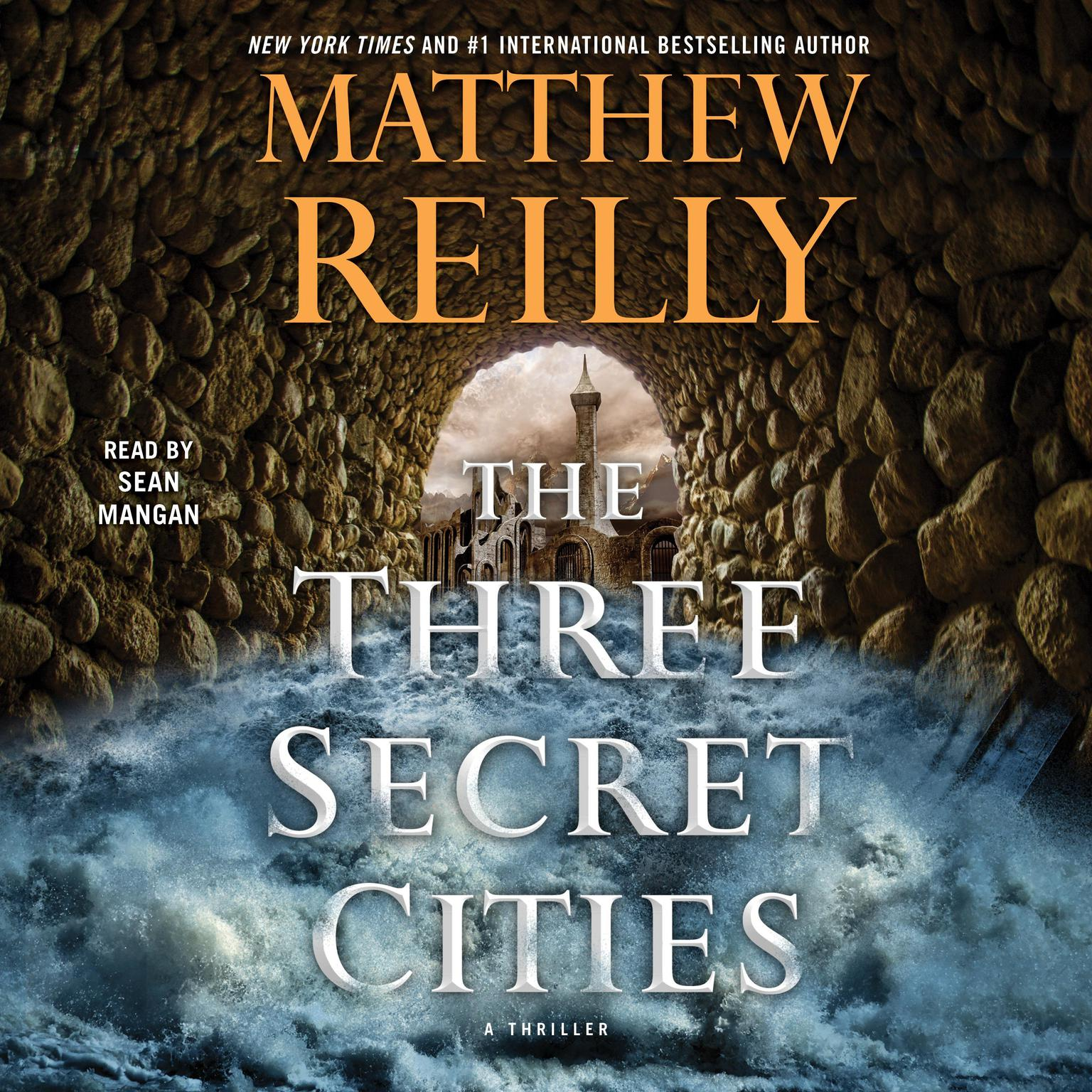 Printable The Three Secret Cities: A Thriller Audiobook Cover Art