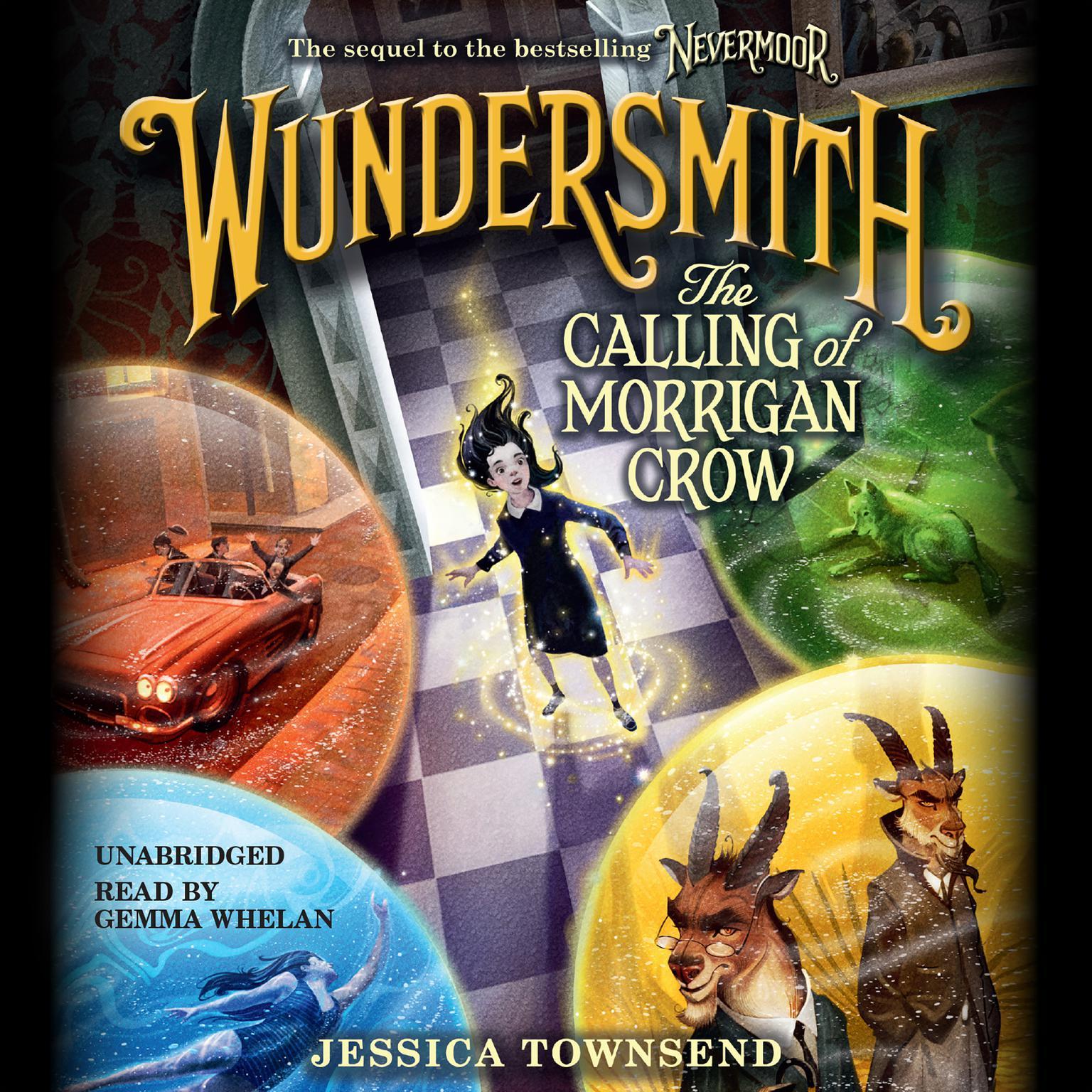 Printable Wundersmith: The Calling of Morrigan Crow Audiobook Cover Art