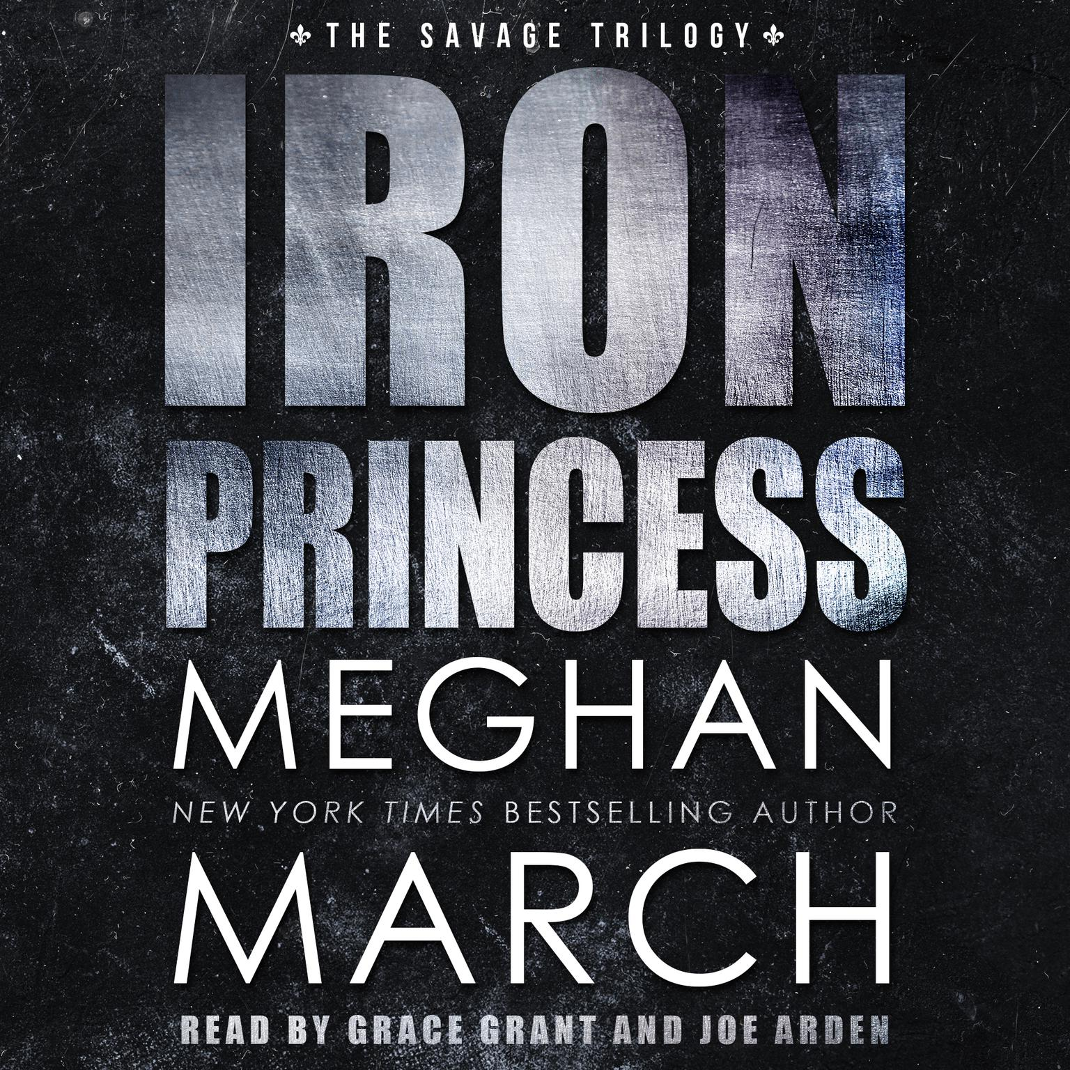 Printable Iron Princess: An Anti-Heroes Collection Novel Audiobook Cover Art