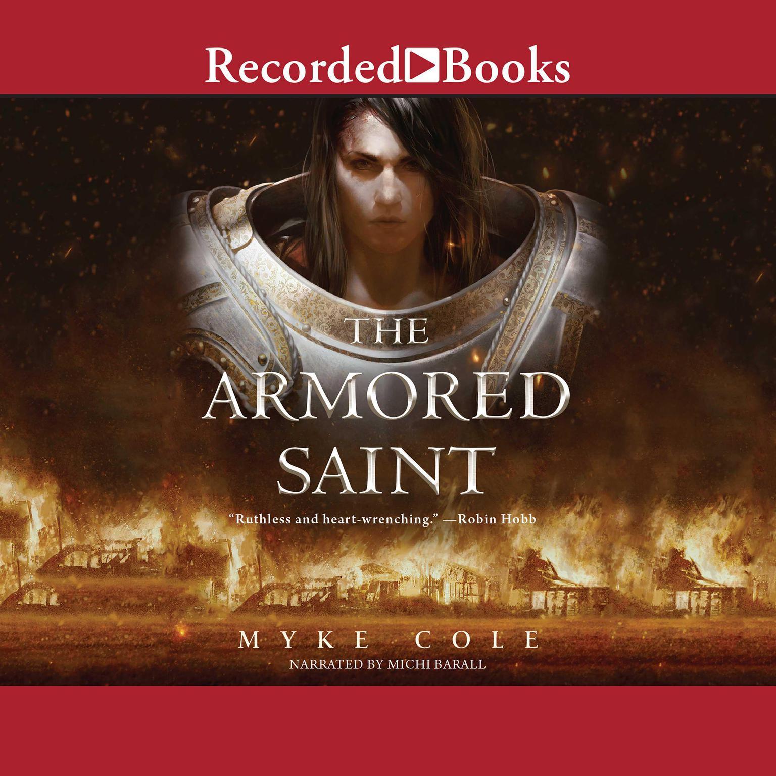 Printable The Armored Saint Audiobook Cover Art
