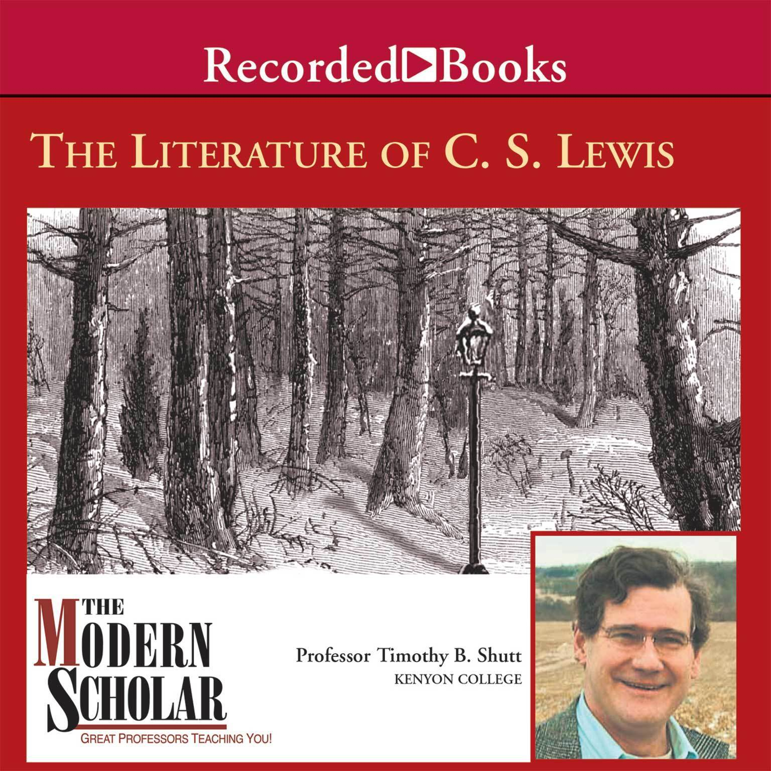 Printable The Literature of C.S. Lewis Audiobook Cover Art