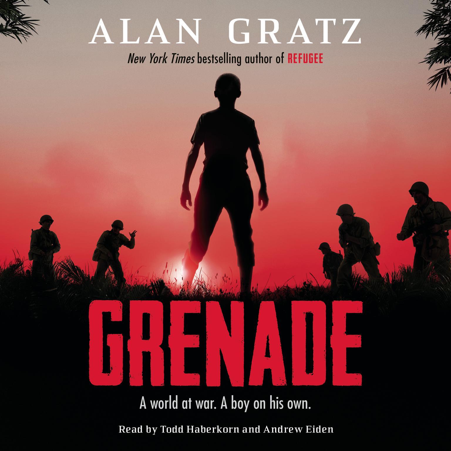 Printable Grenade Audiobook Cover Art