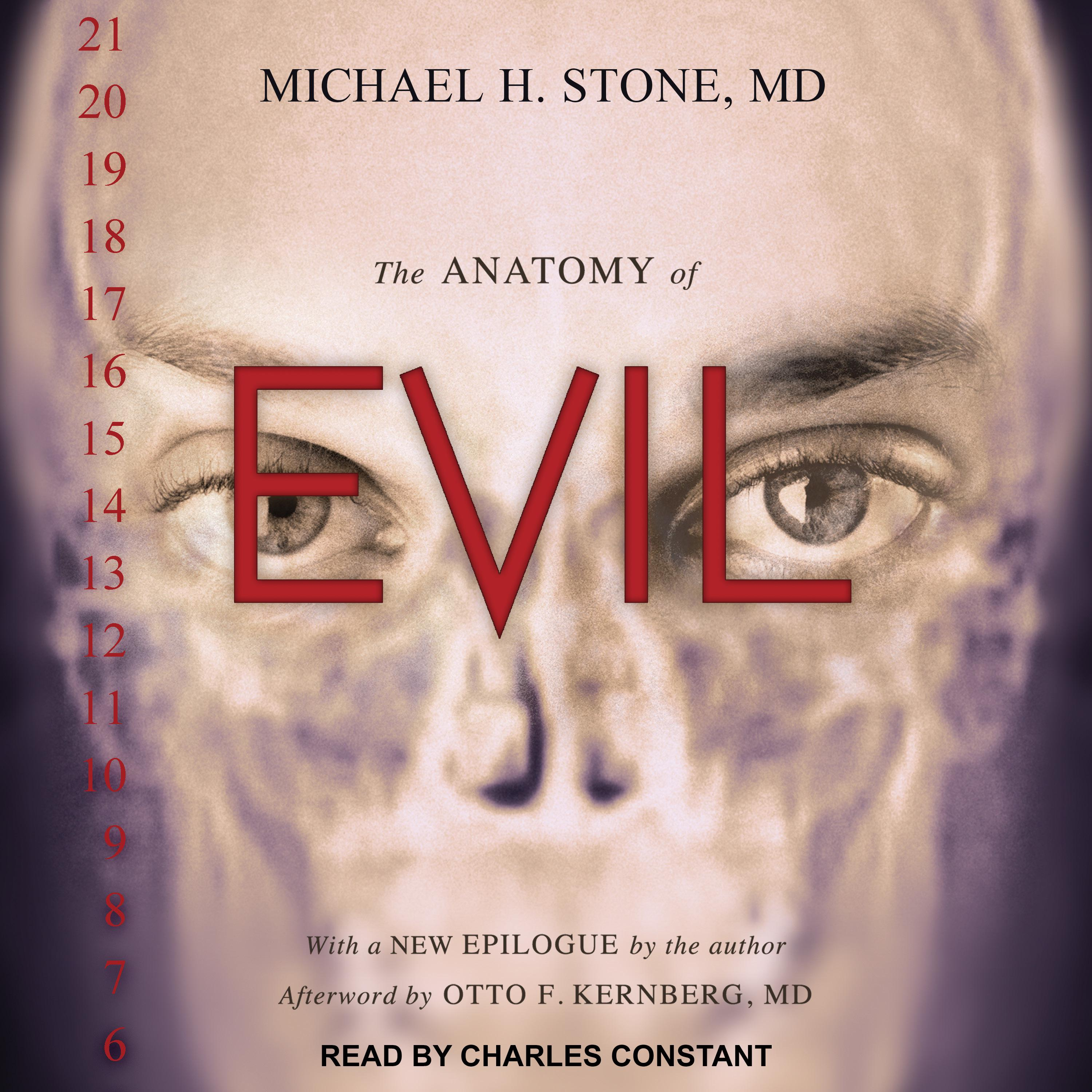 Printable The Anatomy of Evil Audiobook Cover Art