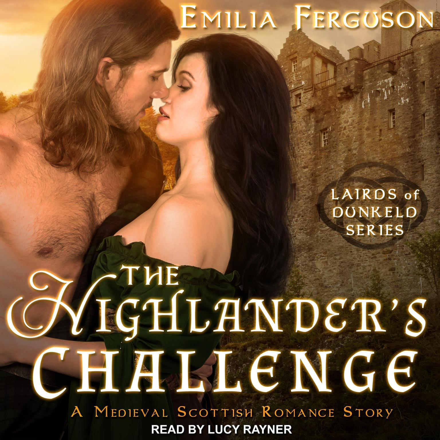 Printable The Highlander's Challenge: A Medieval Scottish Romance Story Audiobook Cover Art