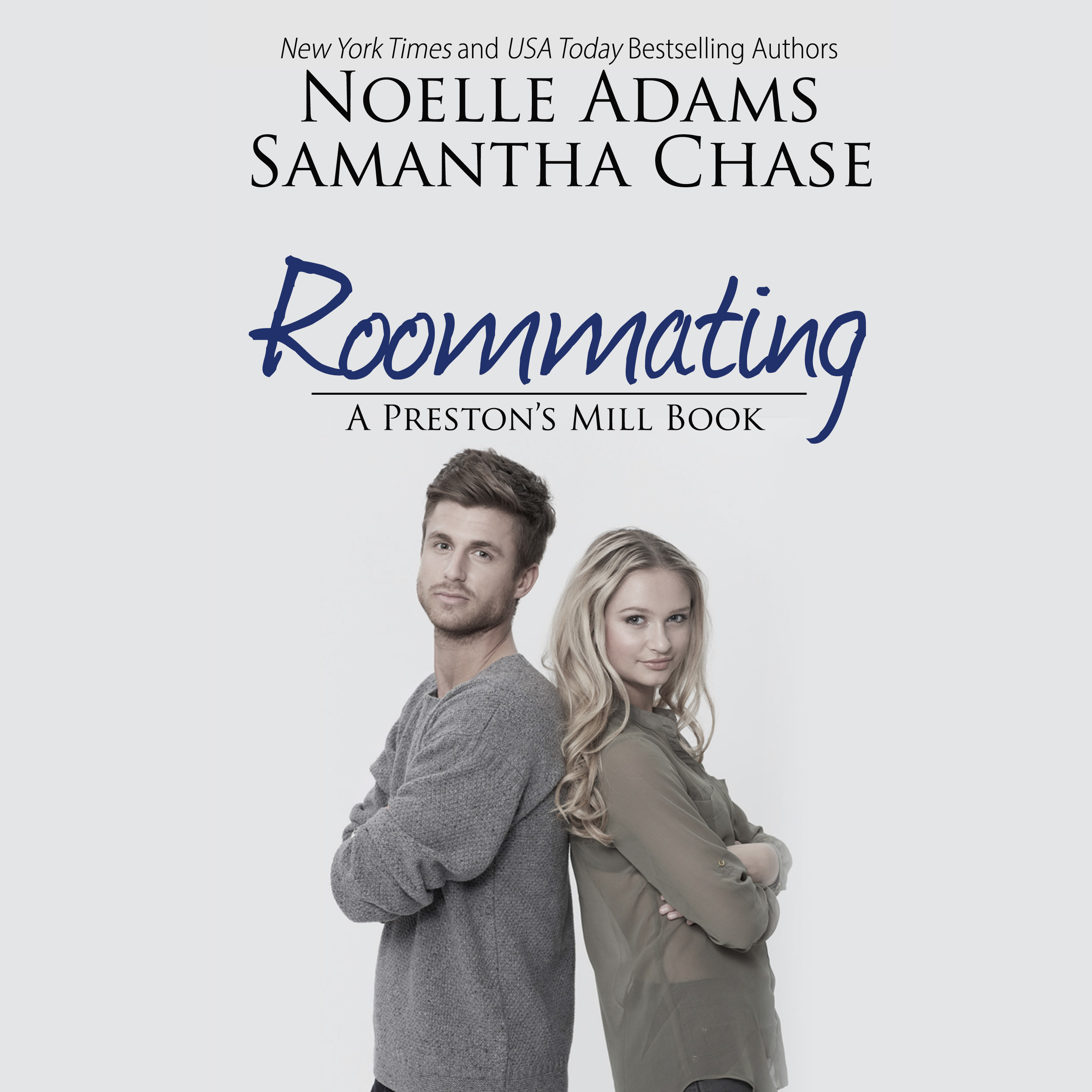 Printable Roommating Audiobook Cover Art