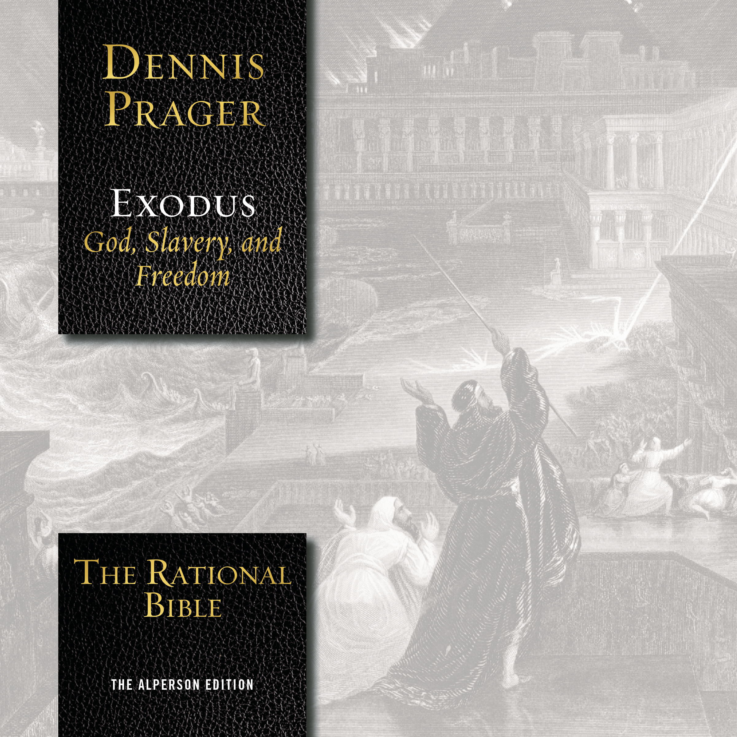 Printable The Rational Bible: Exodus Audiobook Cover Art