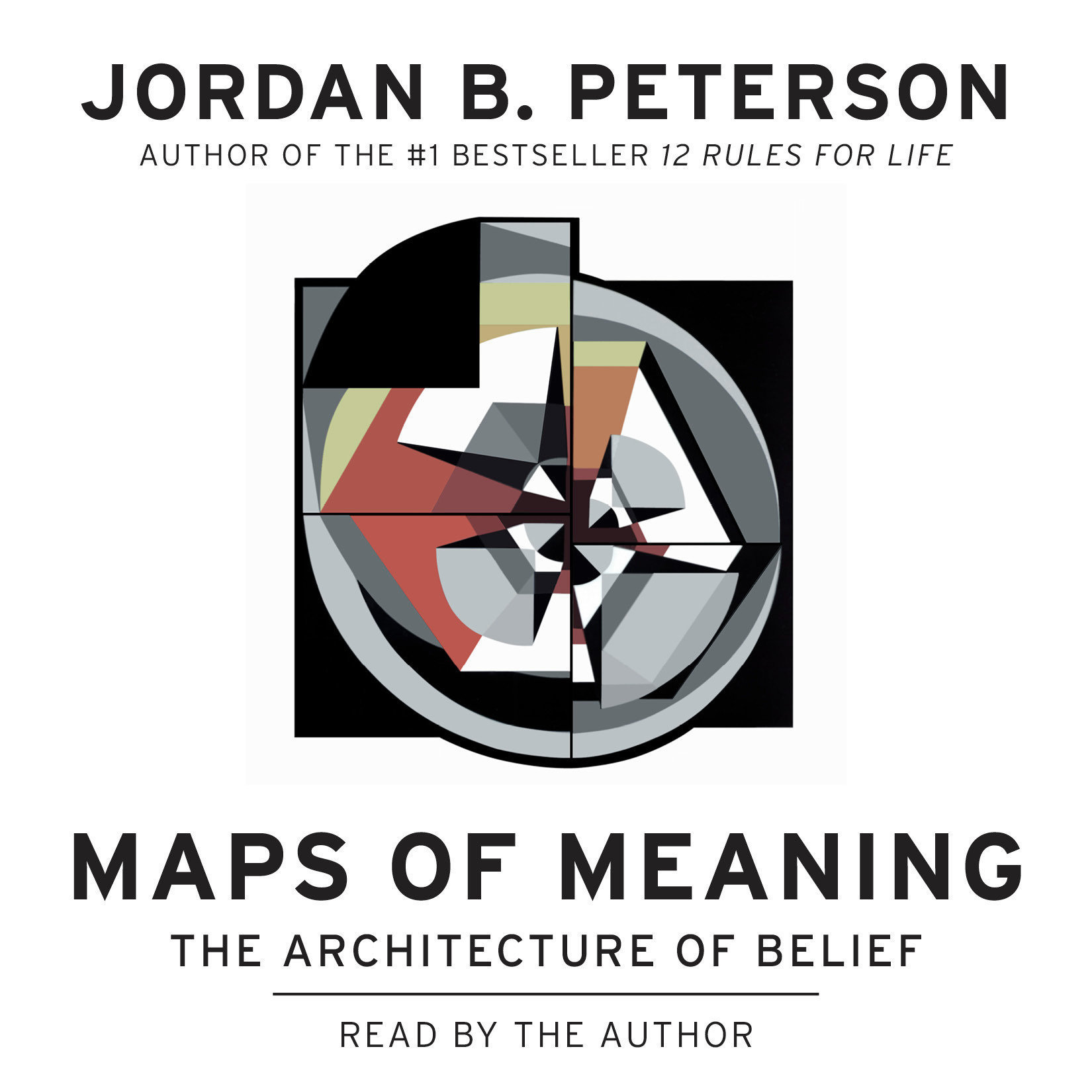 Printable Maps of Meaning: The Architecture of Belief Audiobook Cover Art