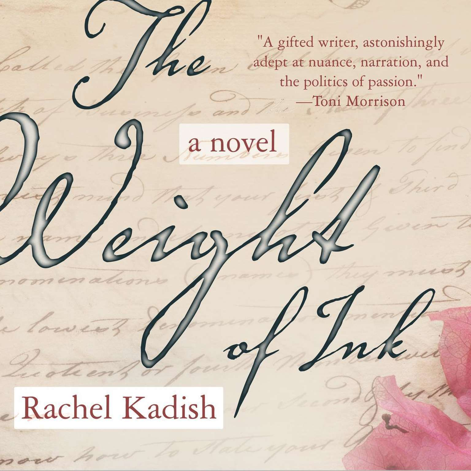 The Weight of Ink Audiobook, by Rachel Kadish