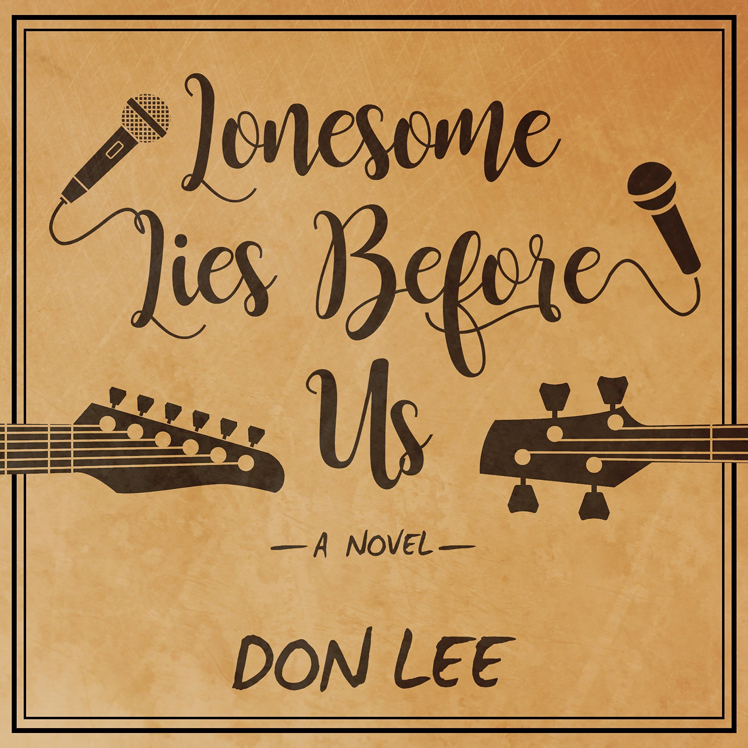 Printable Lonesome Lies Before Us: A Novel Audiobook Cover Art