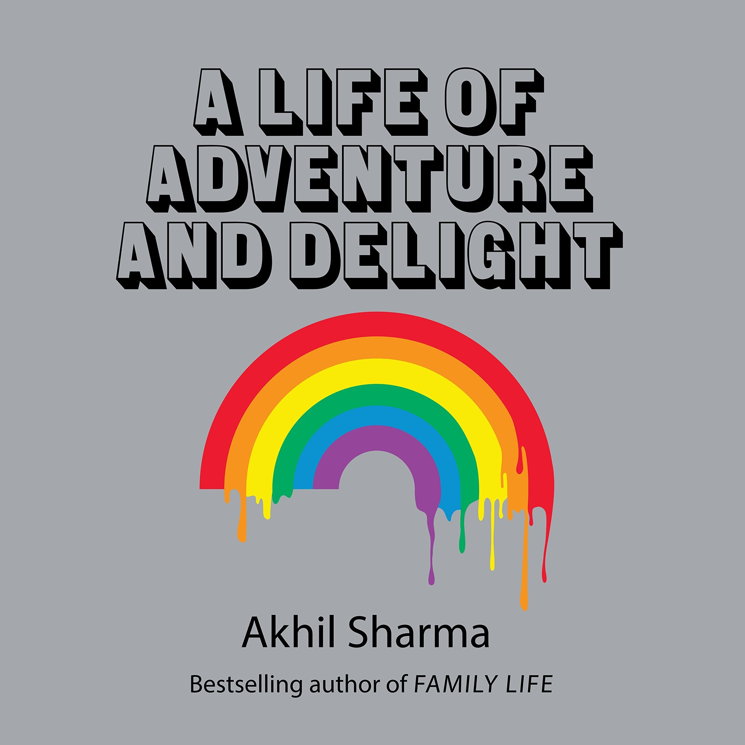 Printable A Life of Adventure and Delight Audiobook Cover Art