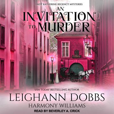 An Invitation To Murder Audiobook, by Leighann Dobbs